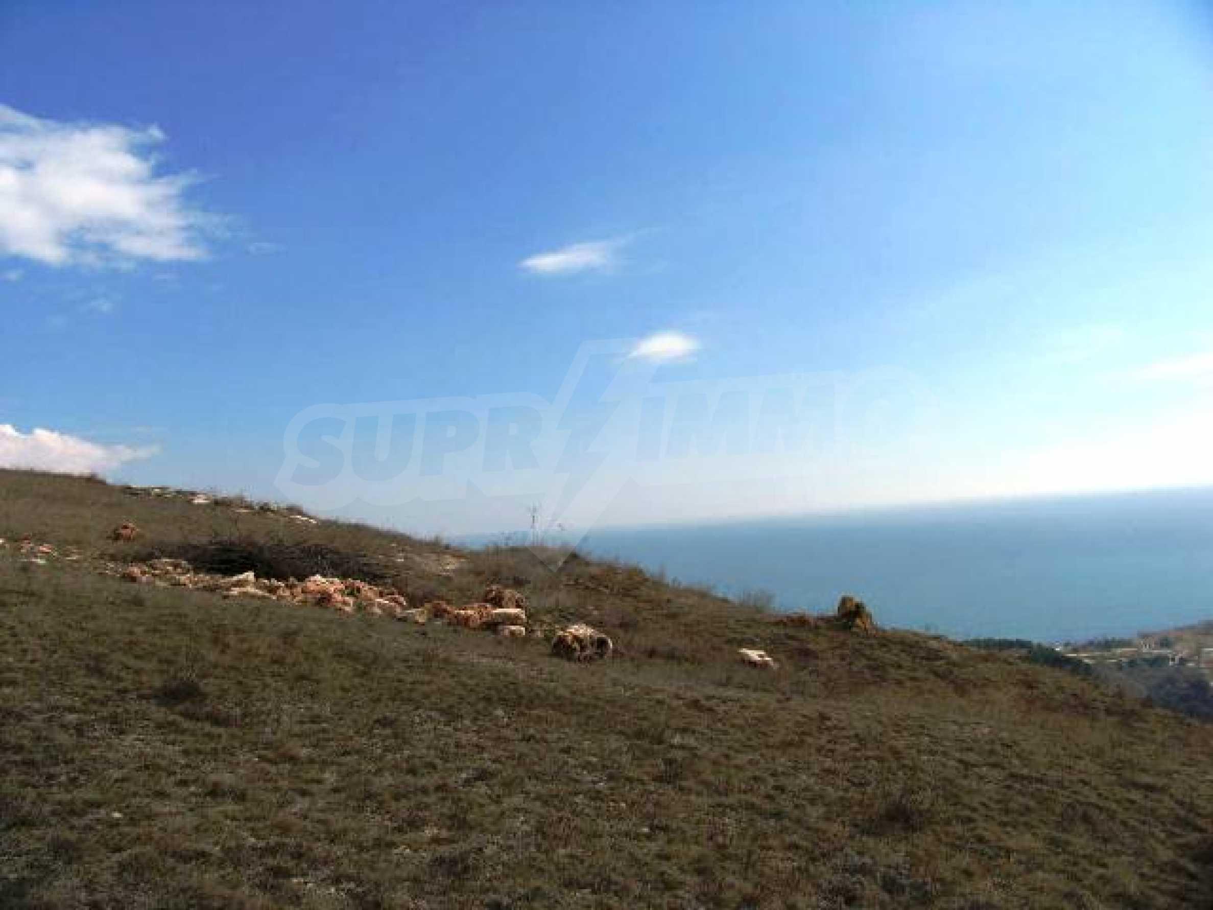 Front-line plot for sale in Bulgarian golf riviera, Topola village 2