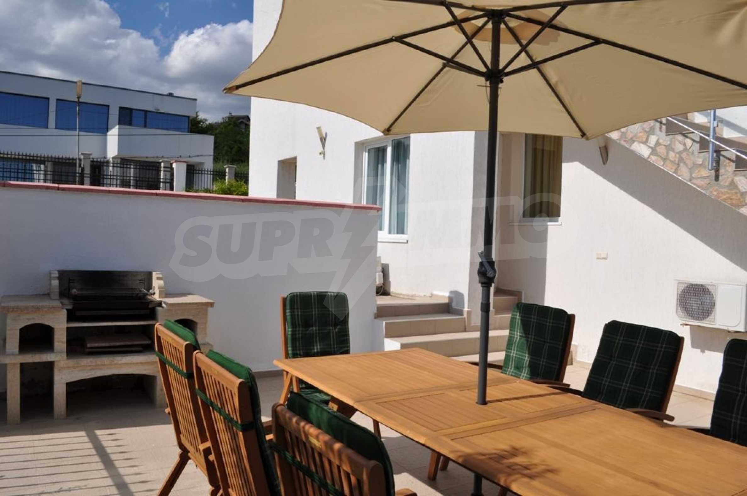 Luxusvilla mit 4 Schlafzimmern zu vermieten in der Nähe des Resorts. Albena 22