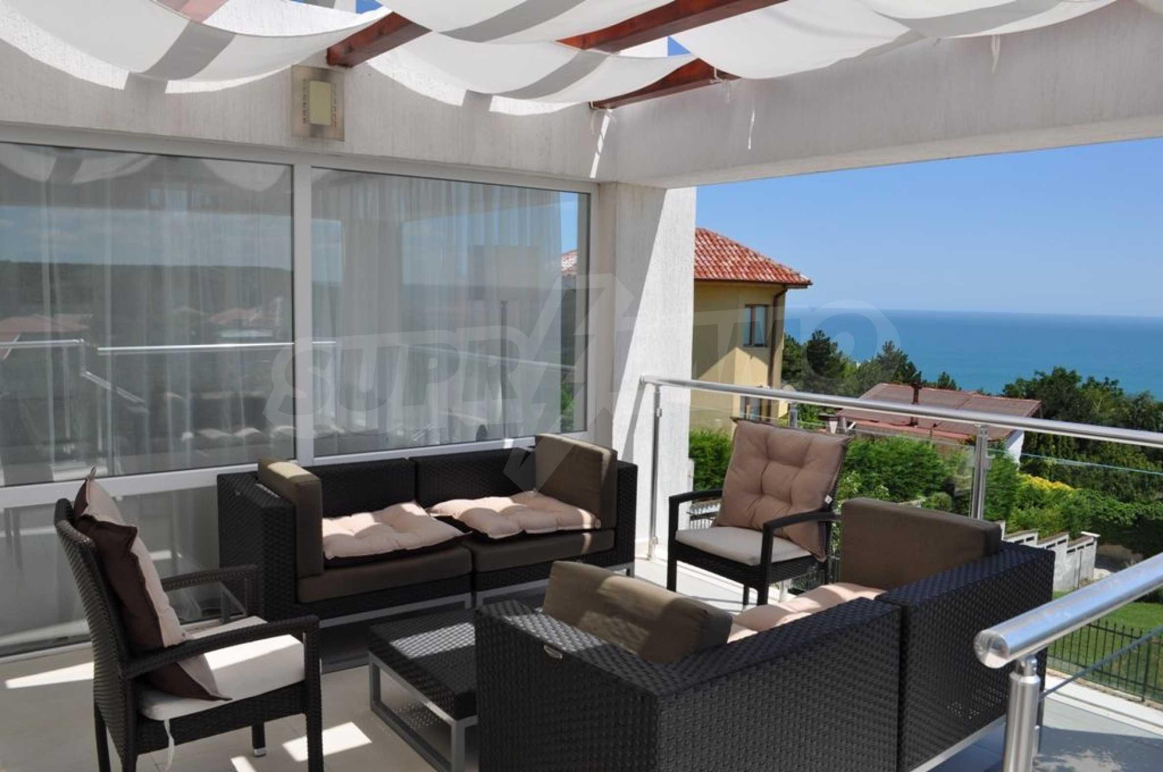 Luxusvilla mit 4 Schlafzimmern zu vermieten in der Nähe des Resorts. Albena 24