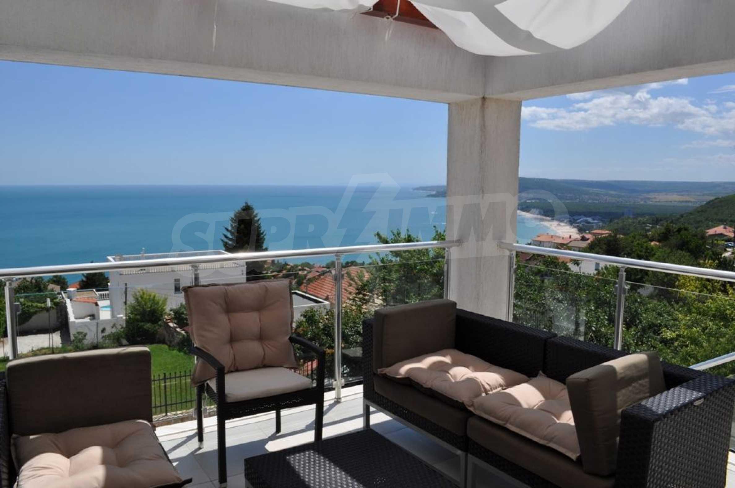 Luxusvilla mit 4 Schlafzimmern zu vermieten in der Nähe des Resorts. Albena 3