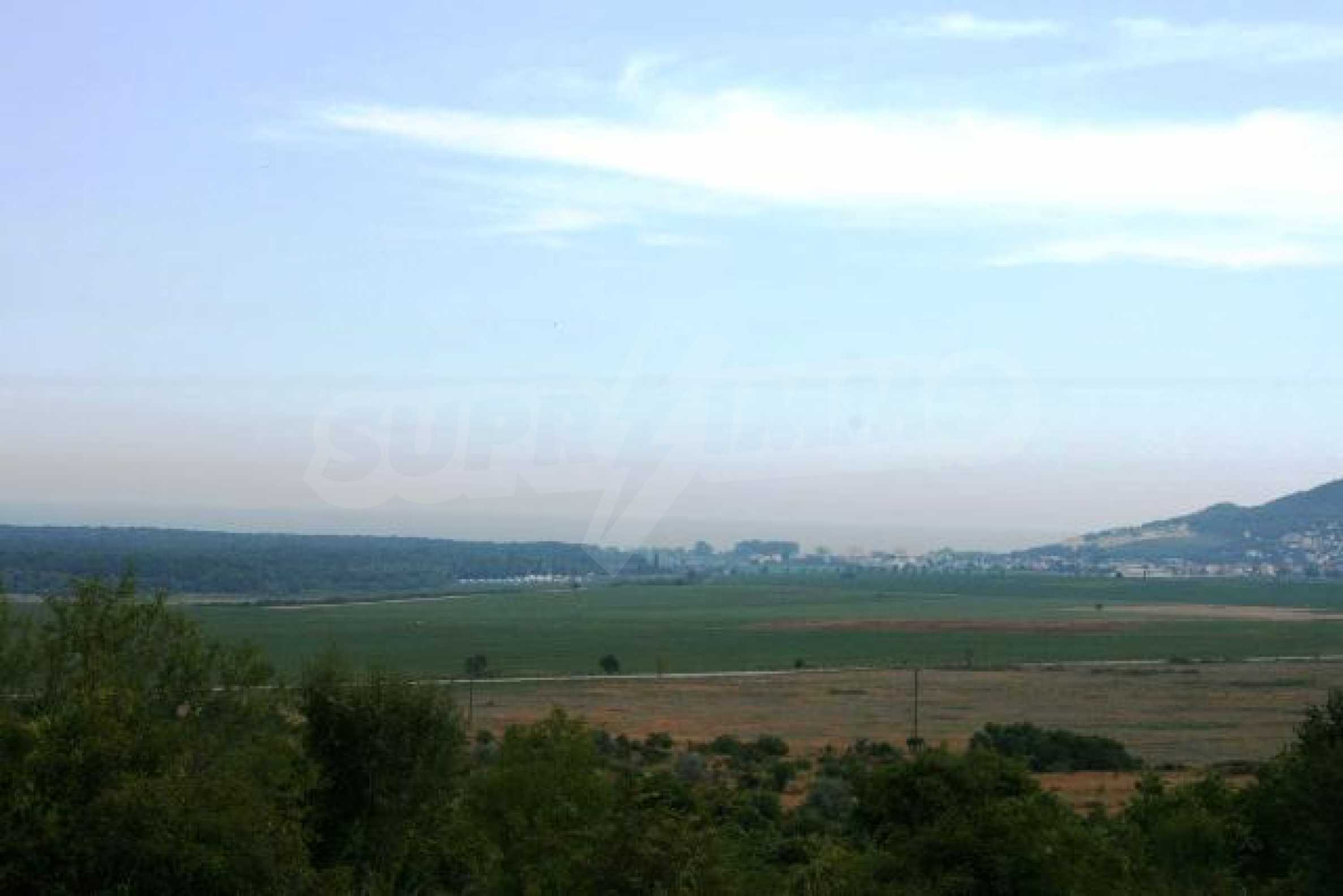 Land in Rogachevo village-5 min. from the sea