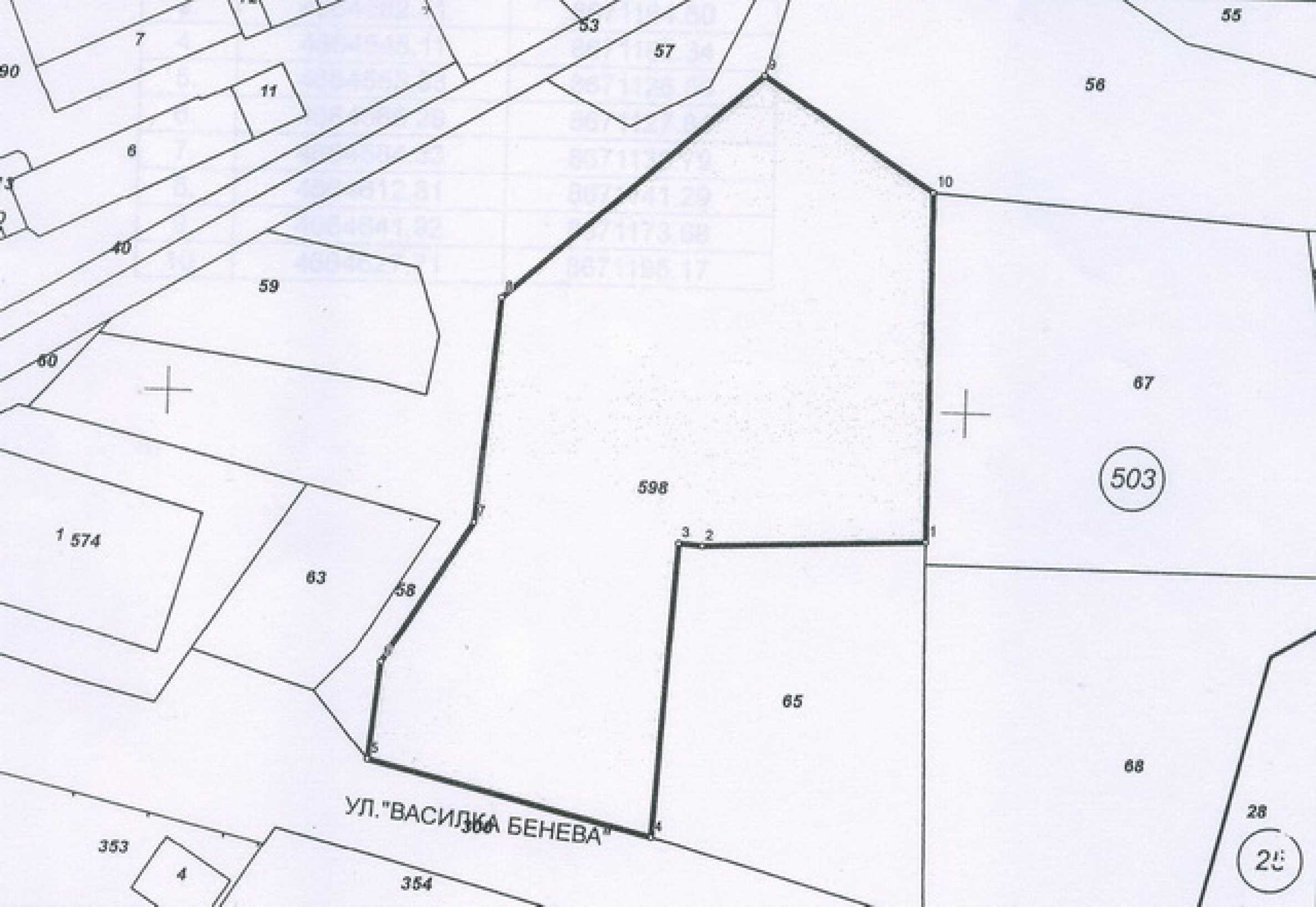 Commercial plot of land in the town of Gabrovo