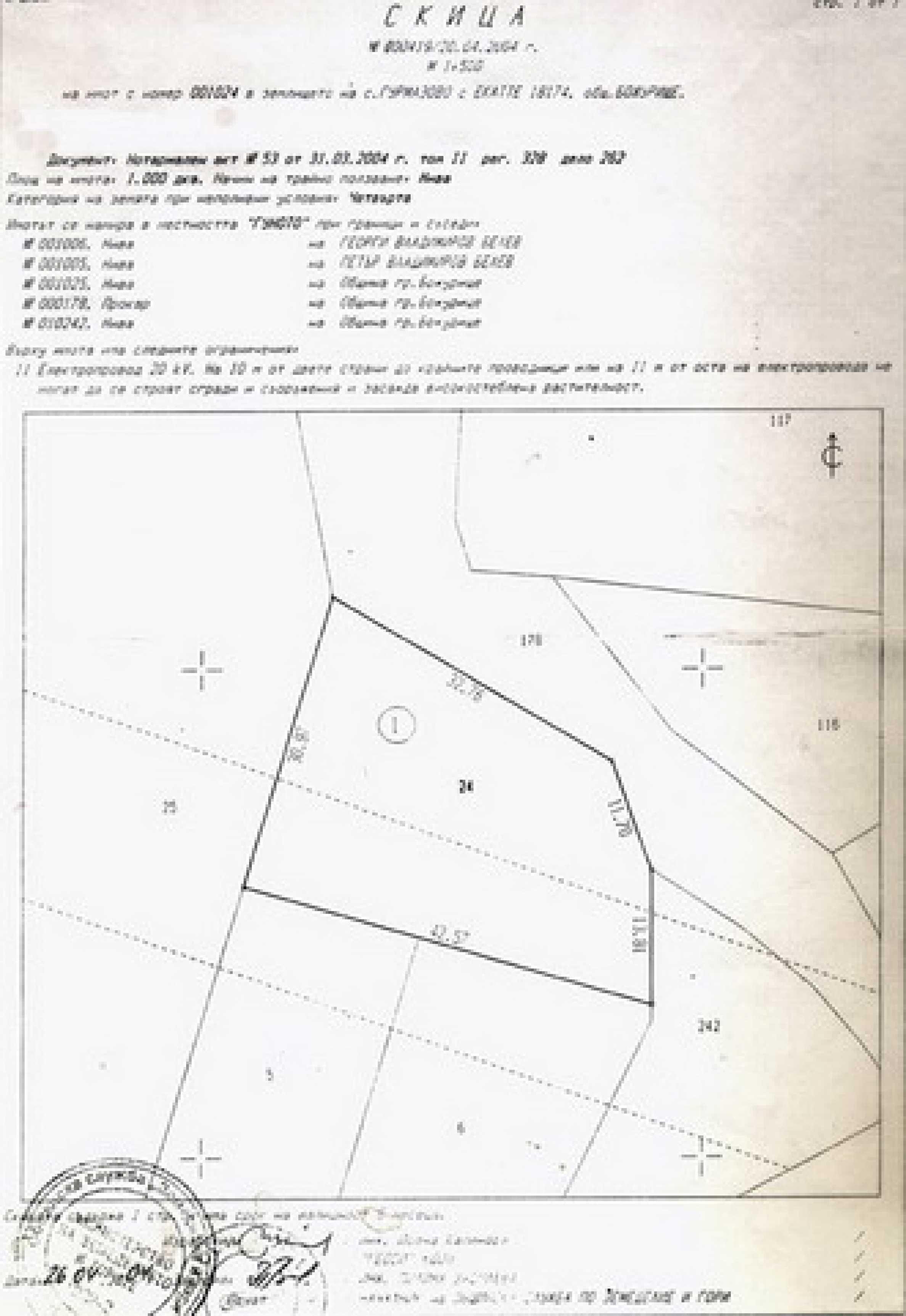 Продажа земли в с. Гурмазово 6