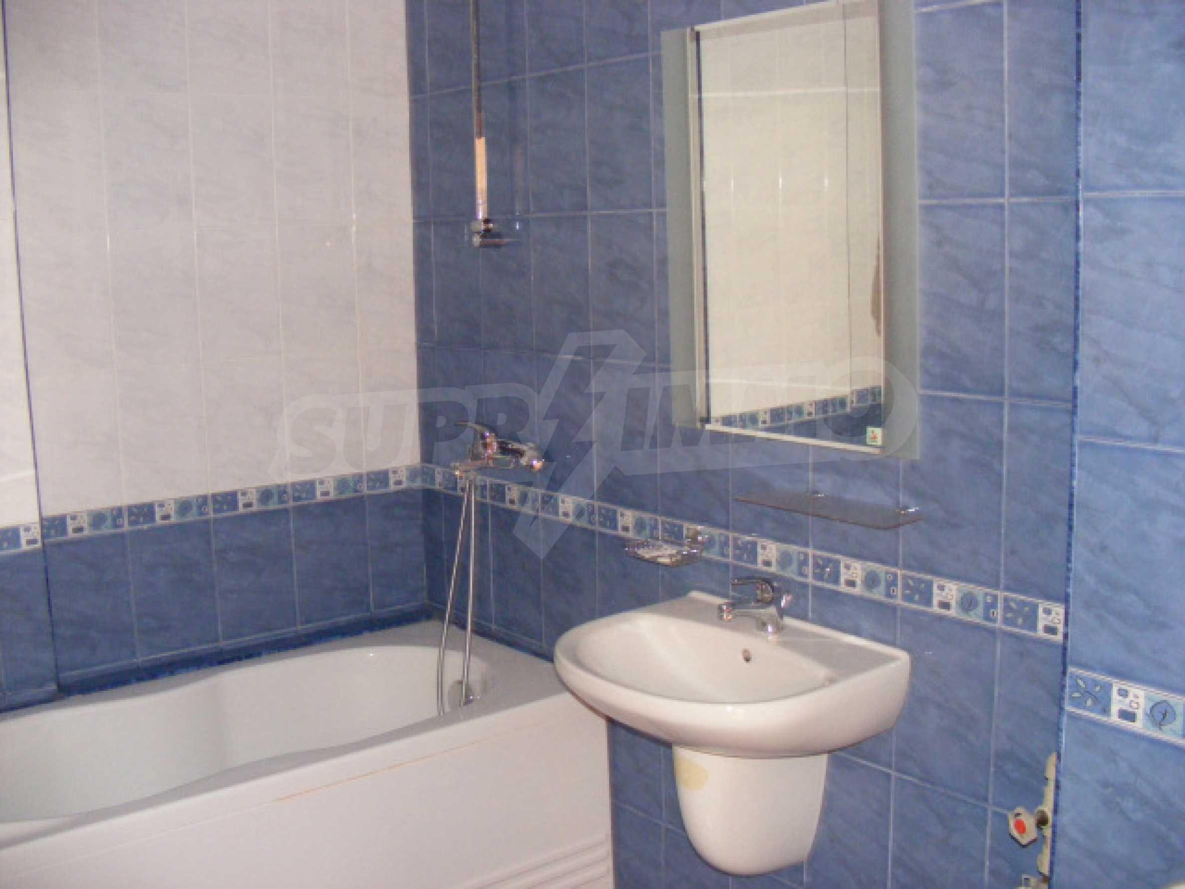 Komplett möbliertes Apartment mit 1 Schlafzimmer in Sunny Beach Goldener Sand, mit Meerblick 15