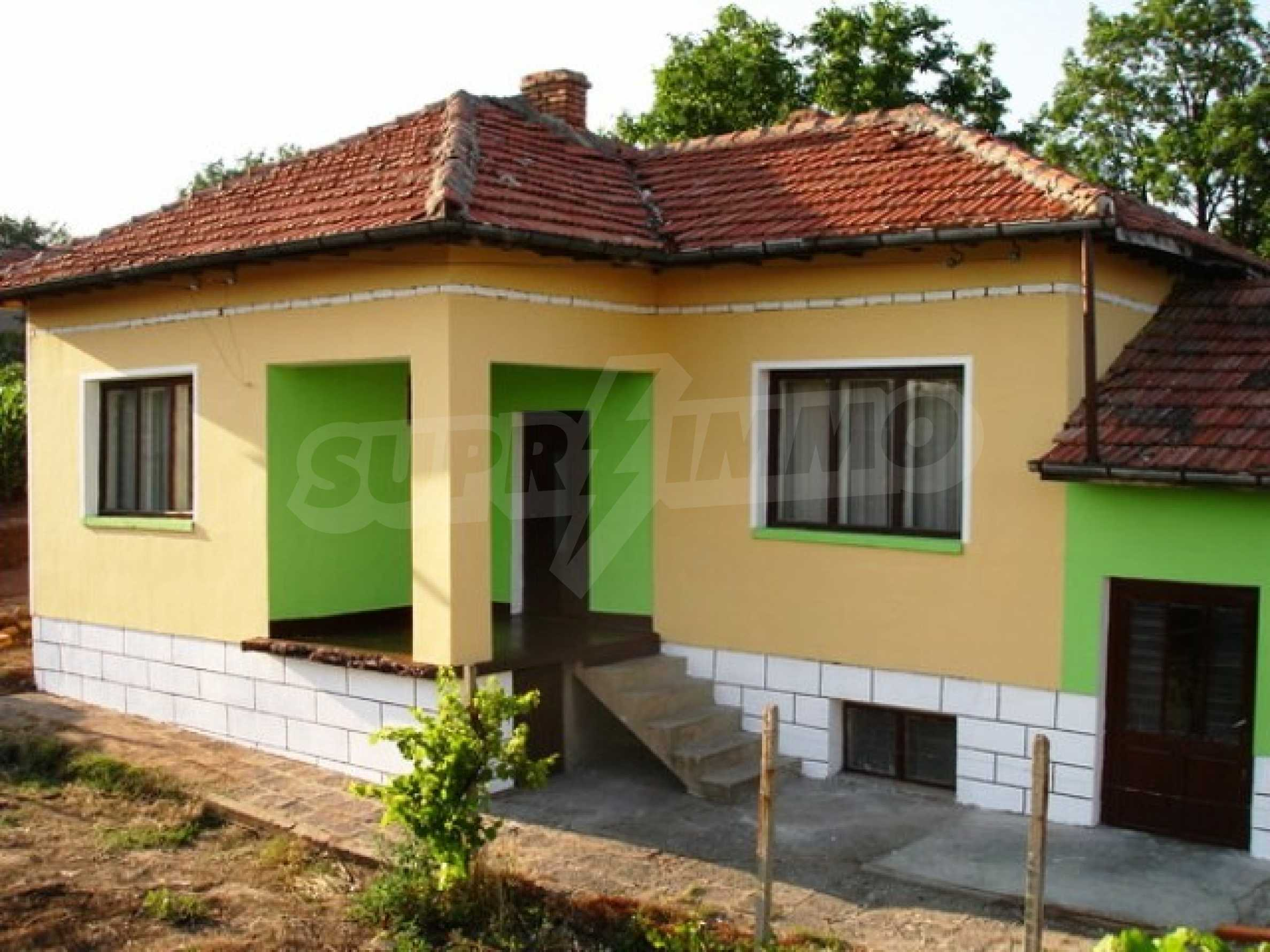 One-storey 3-bedroom house in Piperkovo village, Ruse district 4