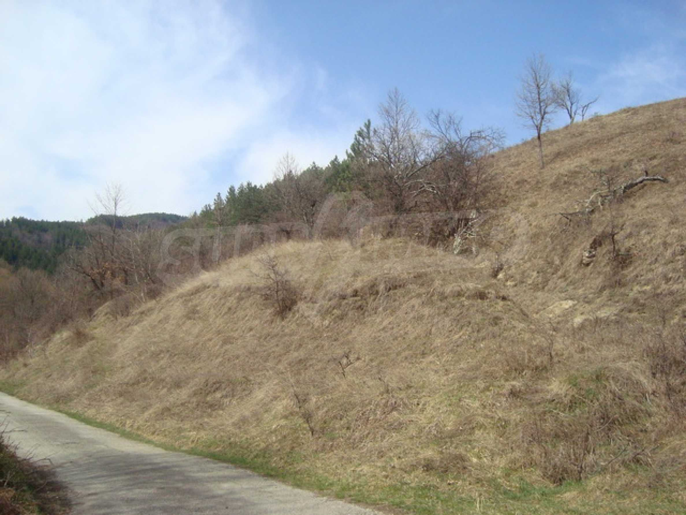 Plot of land for residential building in wonderful mountain area 13