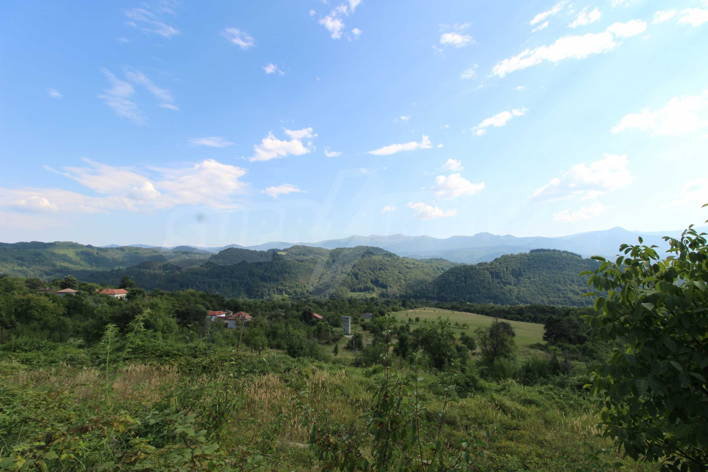Plot of land for residential building in wonderful mountain area 2