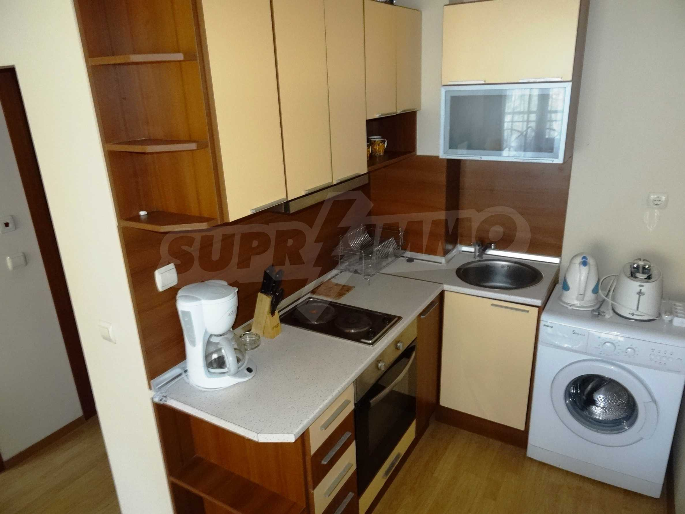 Fully furnished 1-bedroom apartment in Golden Sands, first-line from the sea 5