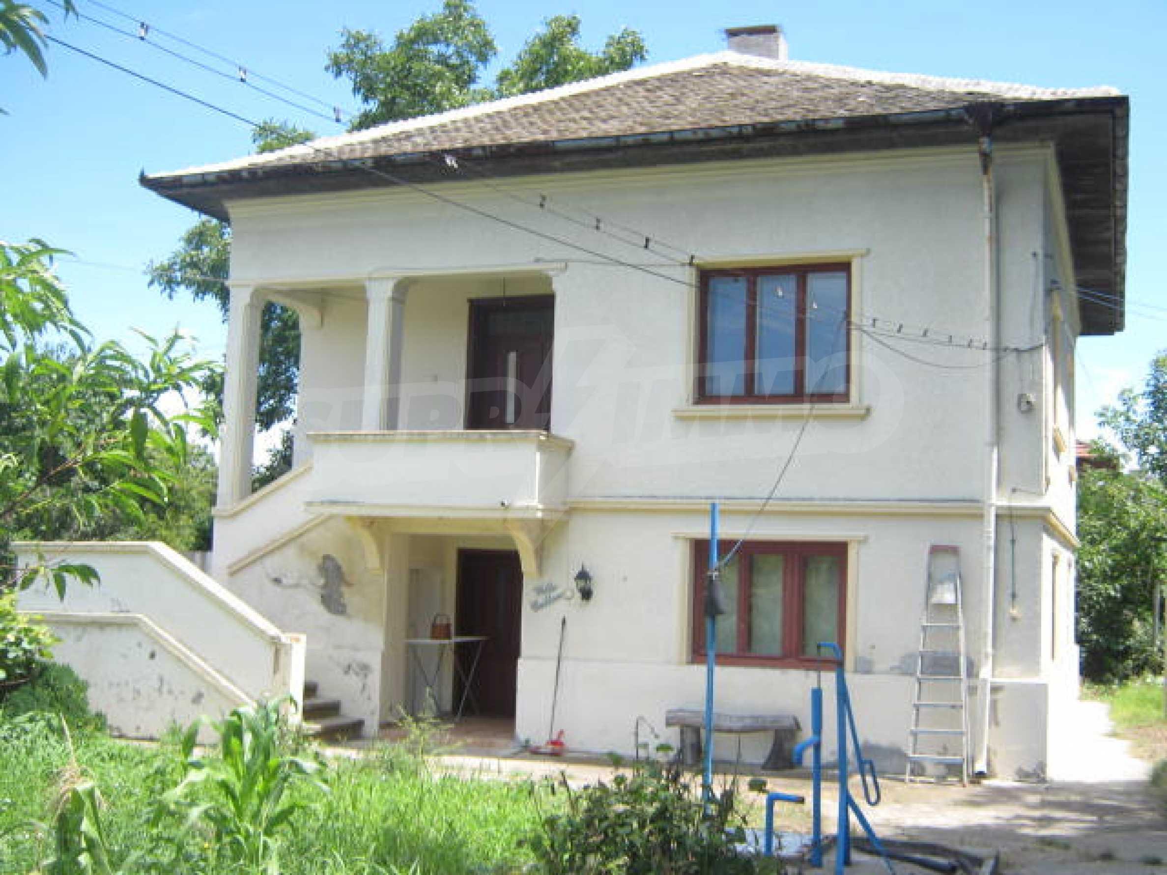 Zweistöckiges Haus neben der Stadt Widin zu verkaufen
