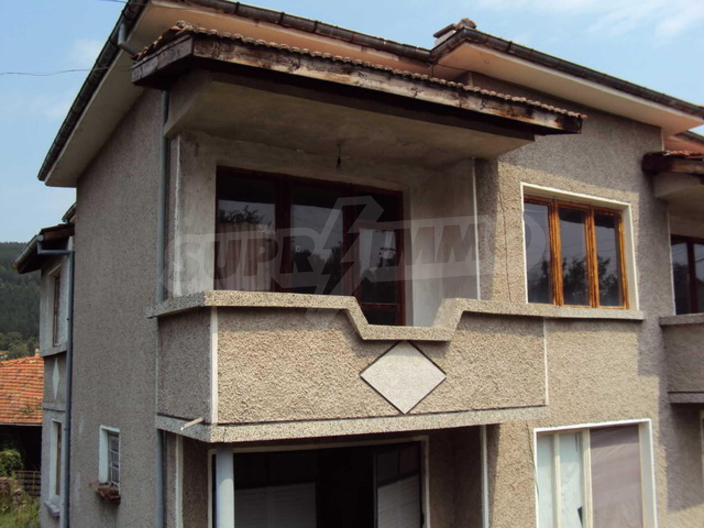 Прекрасный домик в деревне 11