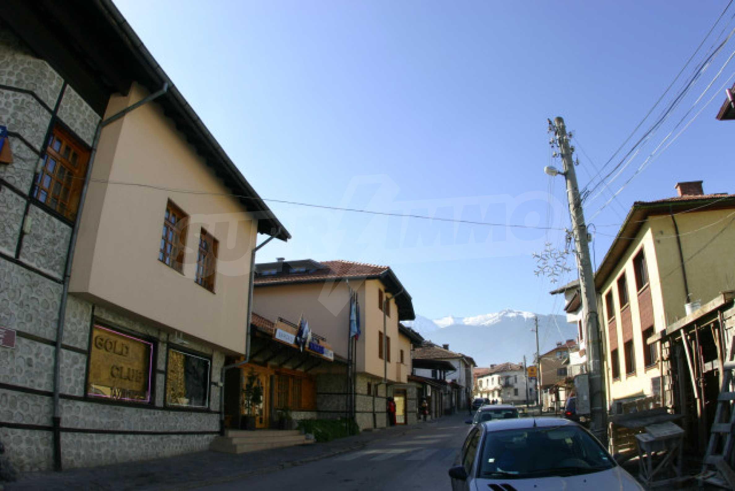Hotel on the main shopping street of Bansko 3