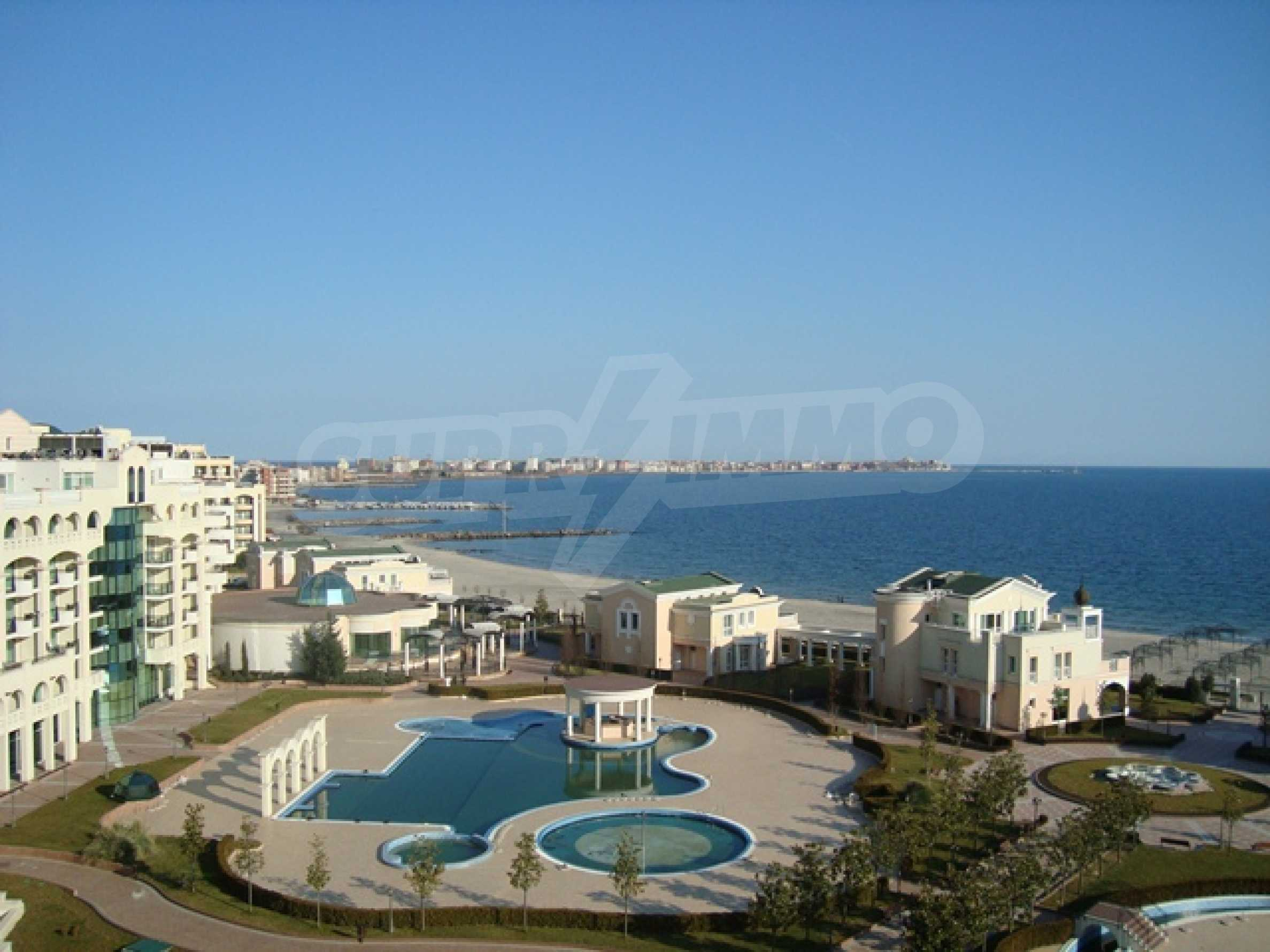 Two-bedroom apartment in Sunset Resort in Pomorie 36