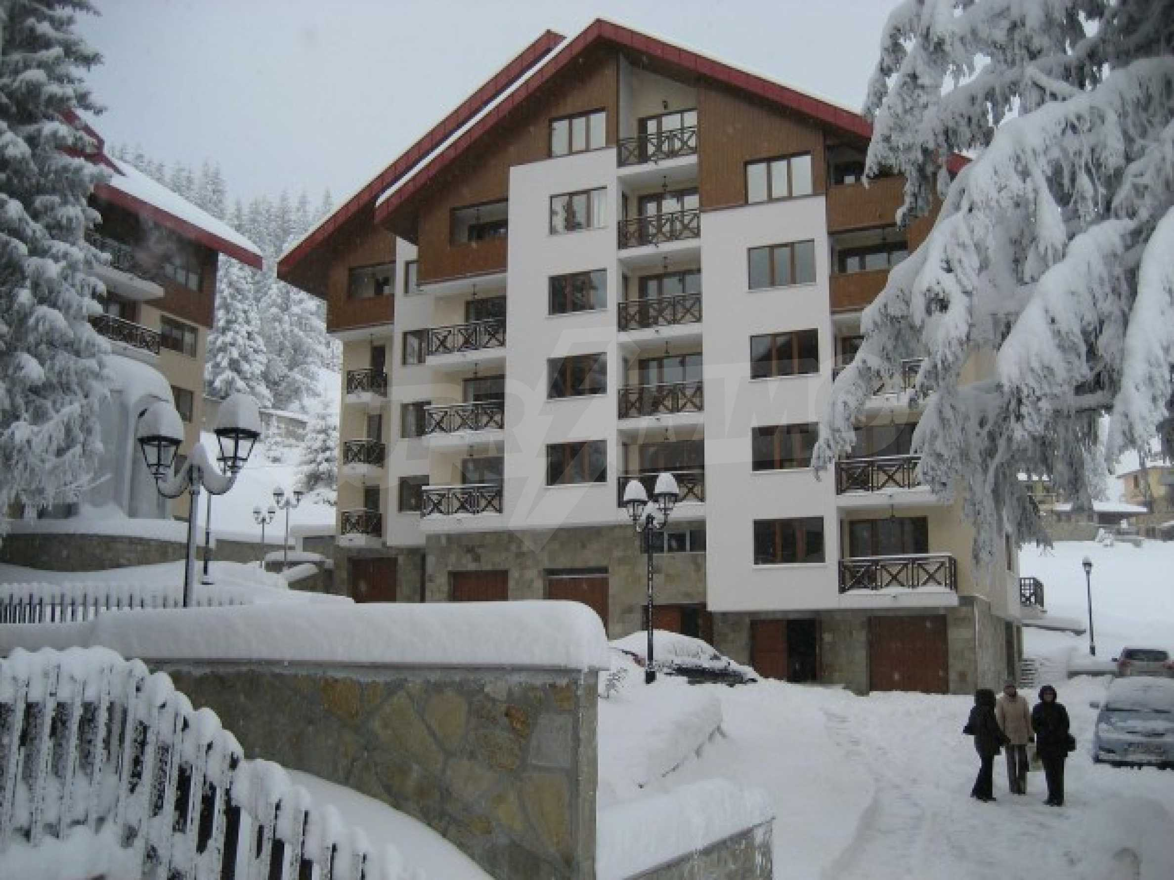 Property in a ski resort