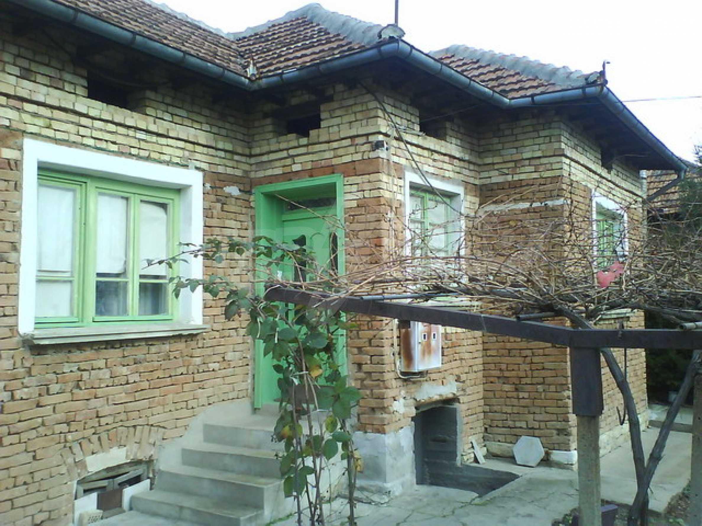 Brick built house