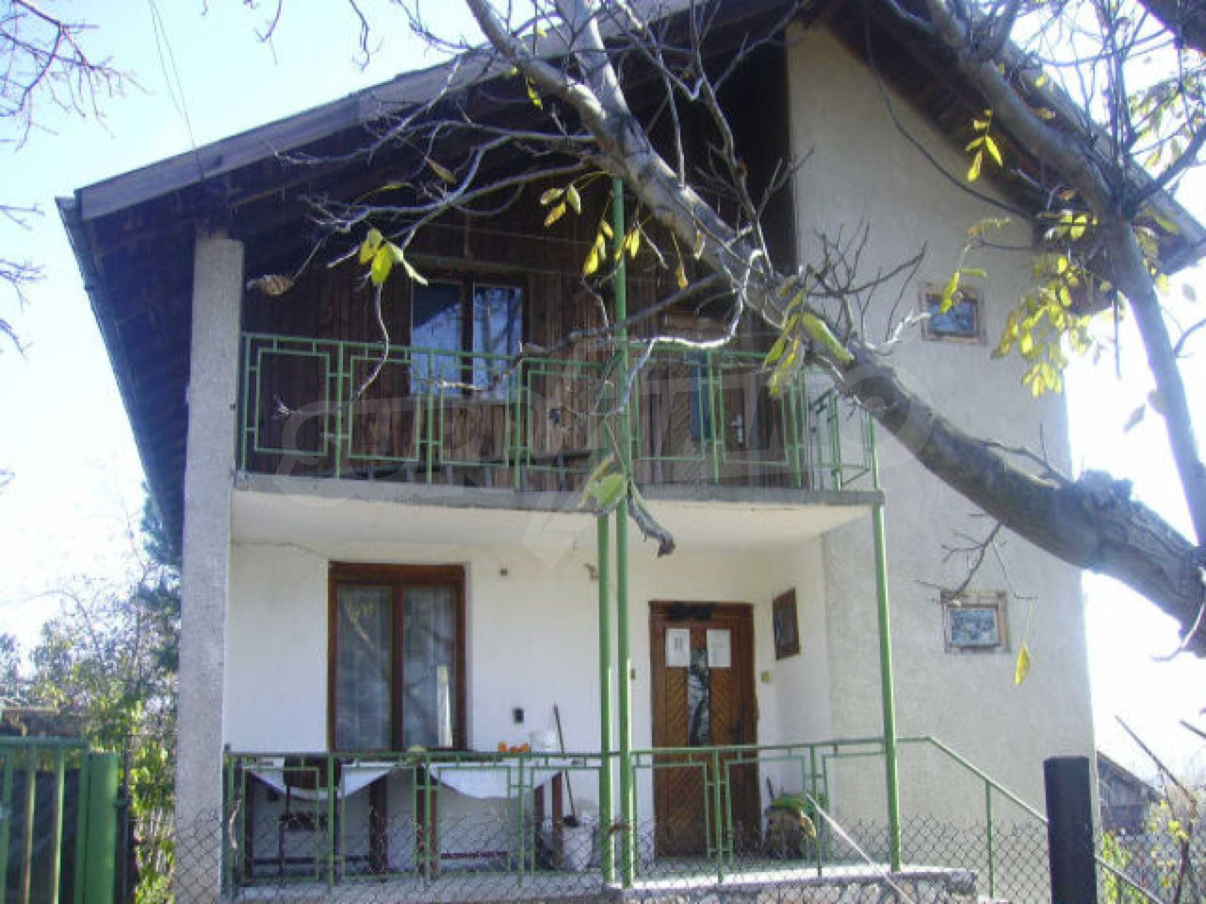 Traditional villa house
