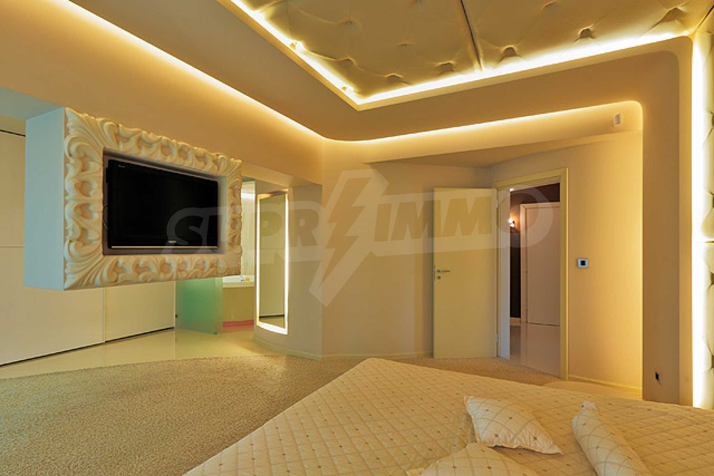 Luxuriously furnished one-bedroom apartment  16