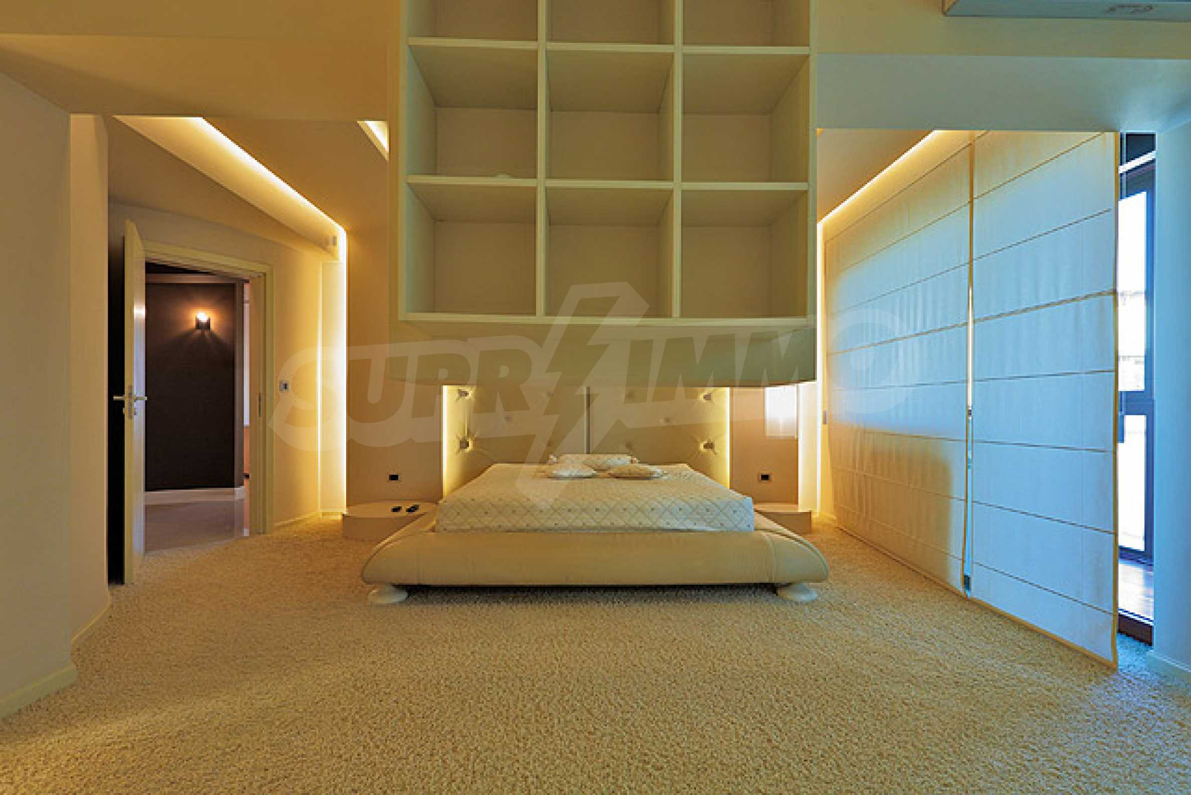 Luxuriously furnished one-bedroom apartment  20