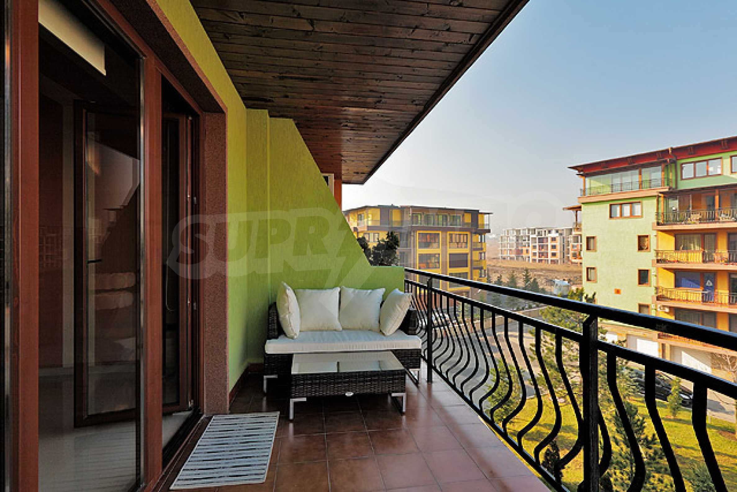 Luxuriously furnished one-bedroom apartment  7