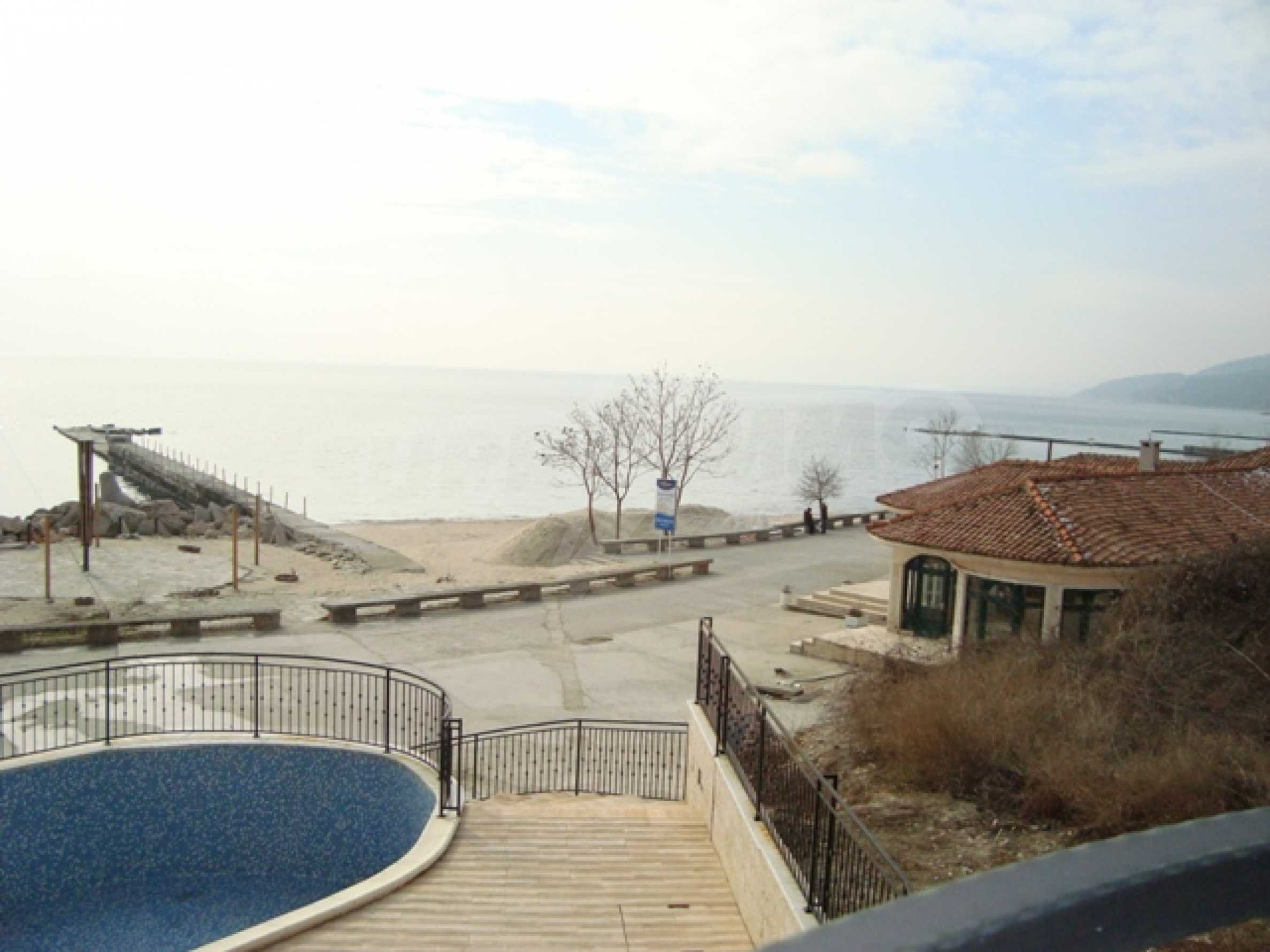 First line from the water in Balchik 15