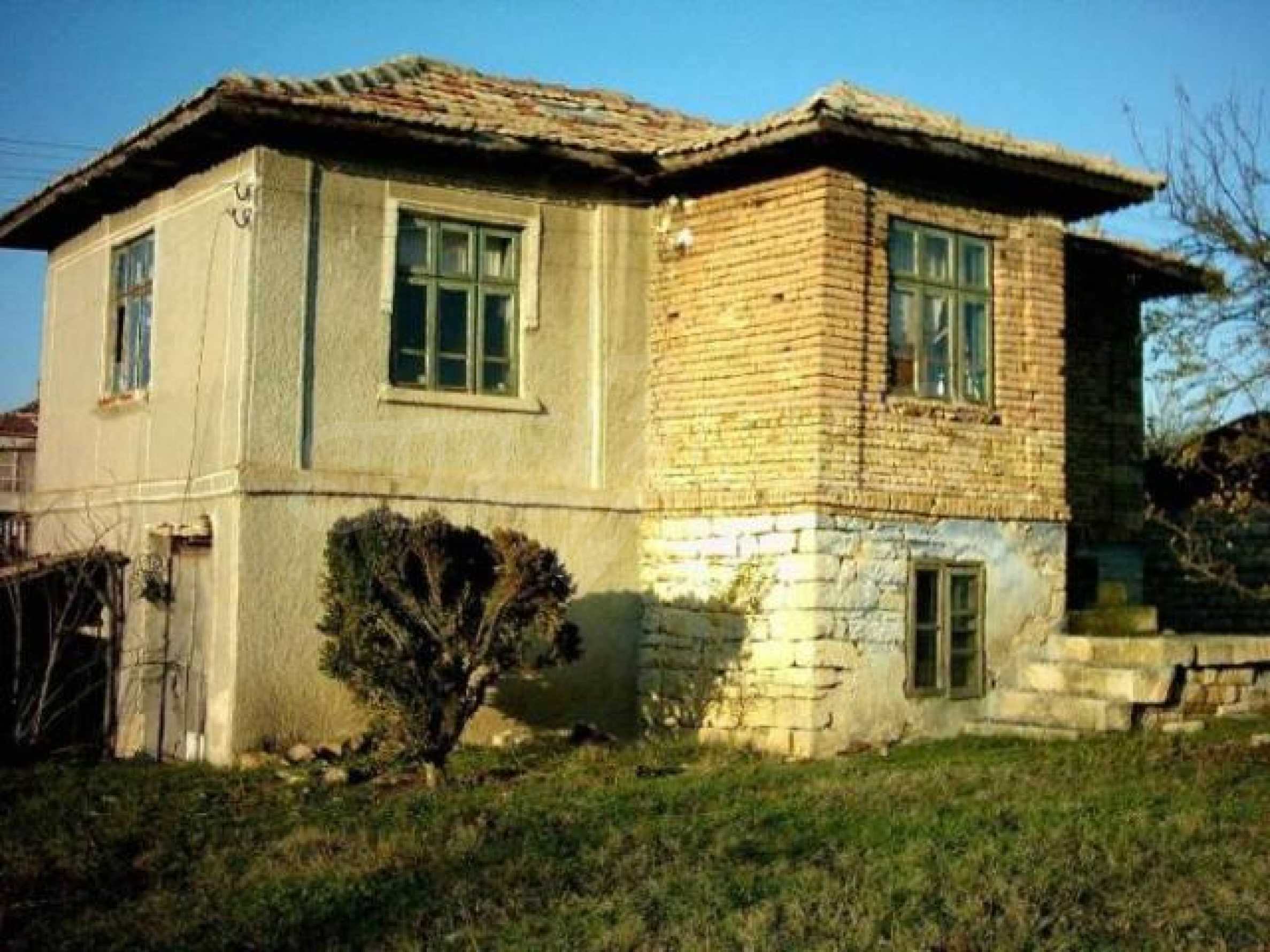 Traditional Bulgarian house in the village of Momchilovo