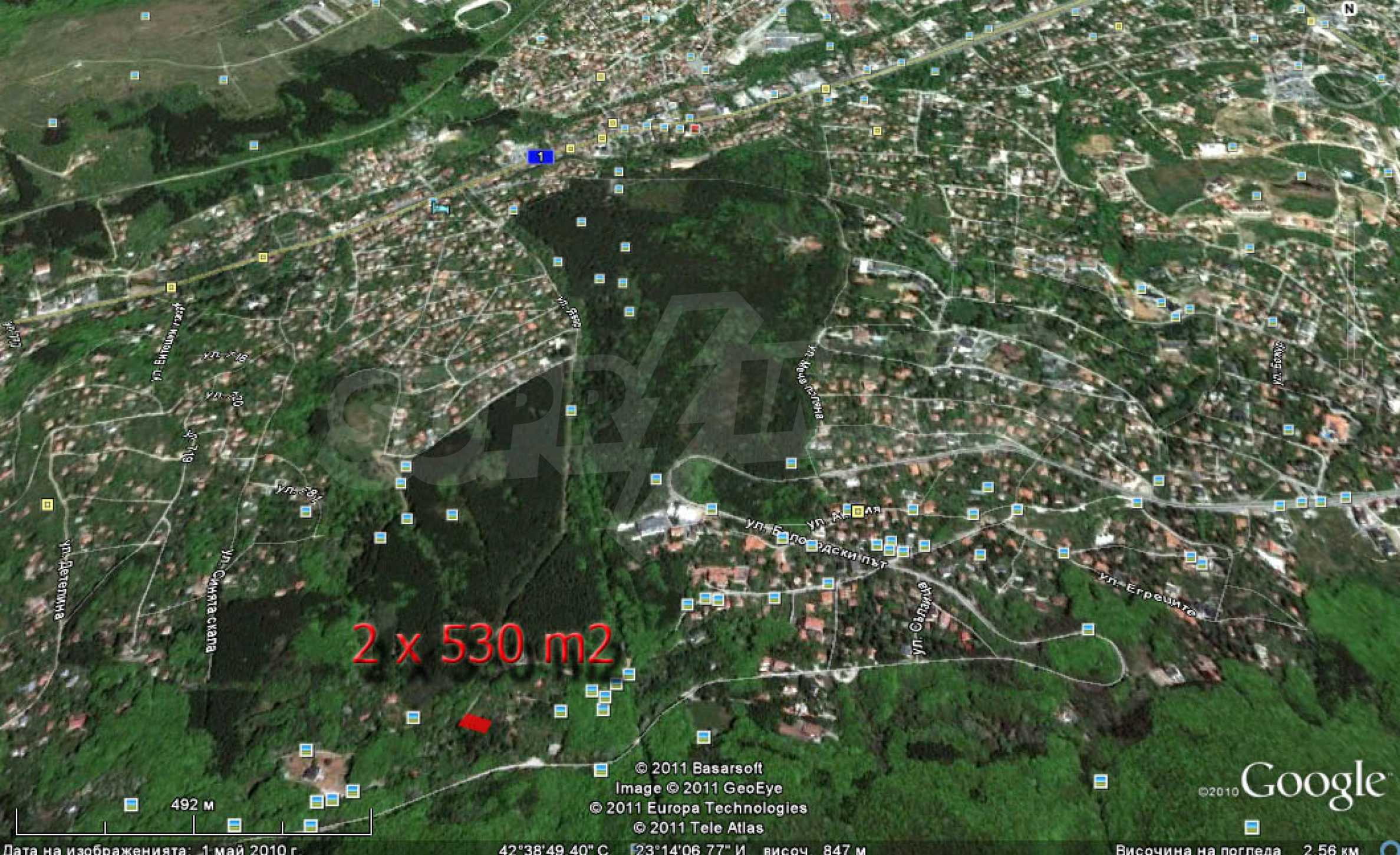 Two plots for sale in Boyan, Sofia. 10