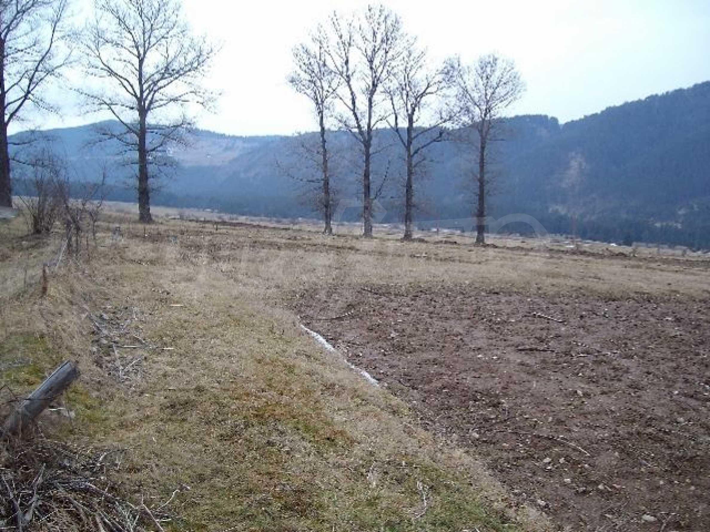 Большой участок в горном районе вблизи Боровец  4