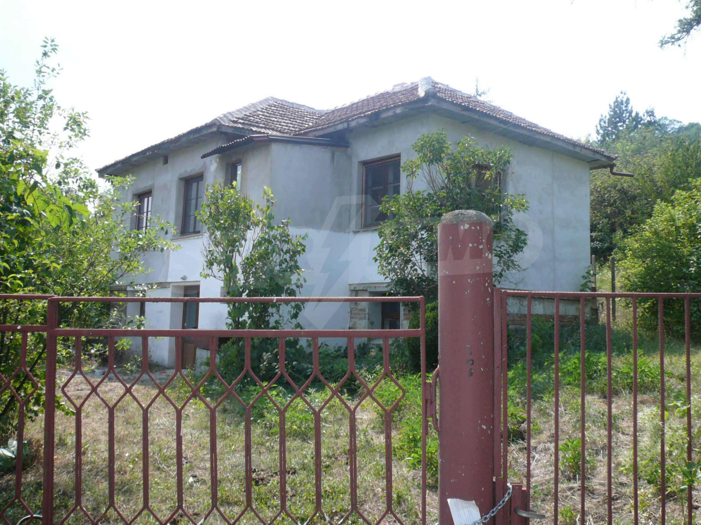 Отремонтированный домик в маленьком селе, недалеко от г. Видин