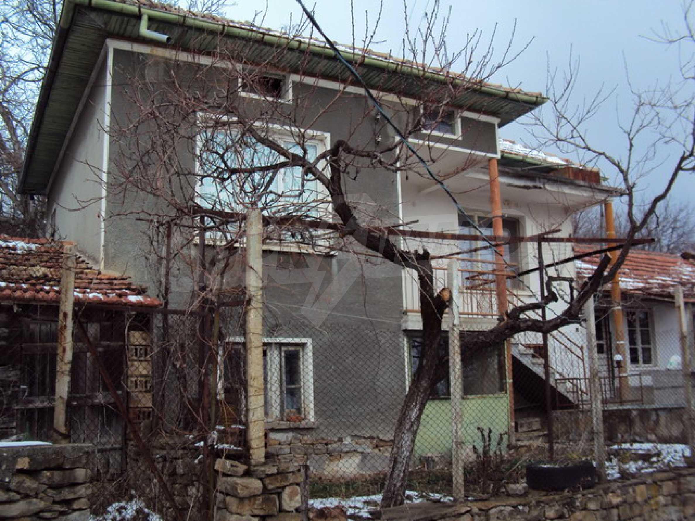 Типичный болгарский дом