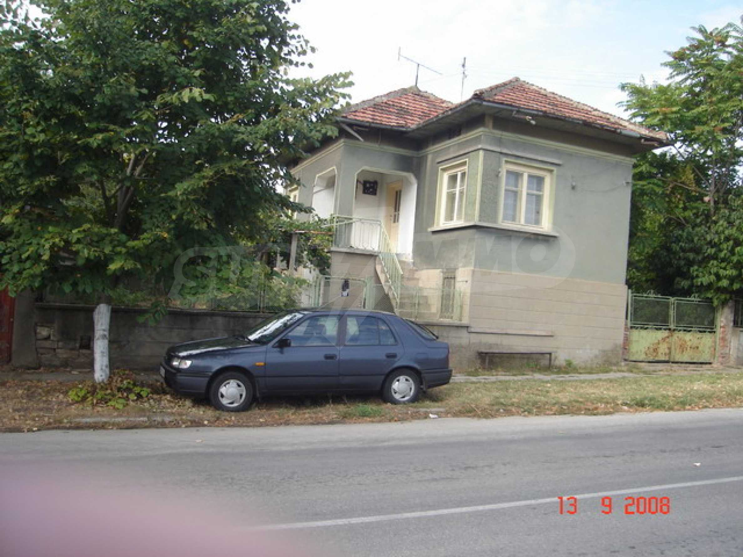 House near the Danube river