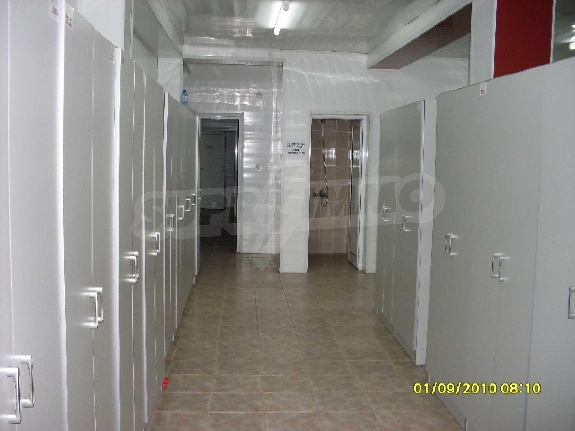 Одноэтажное промышленное здание 8