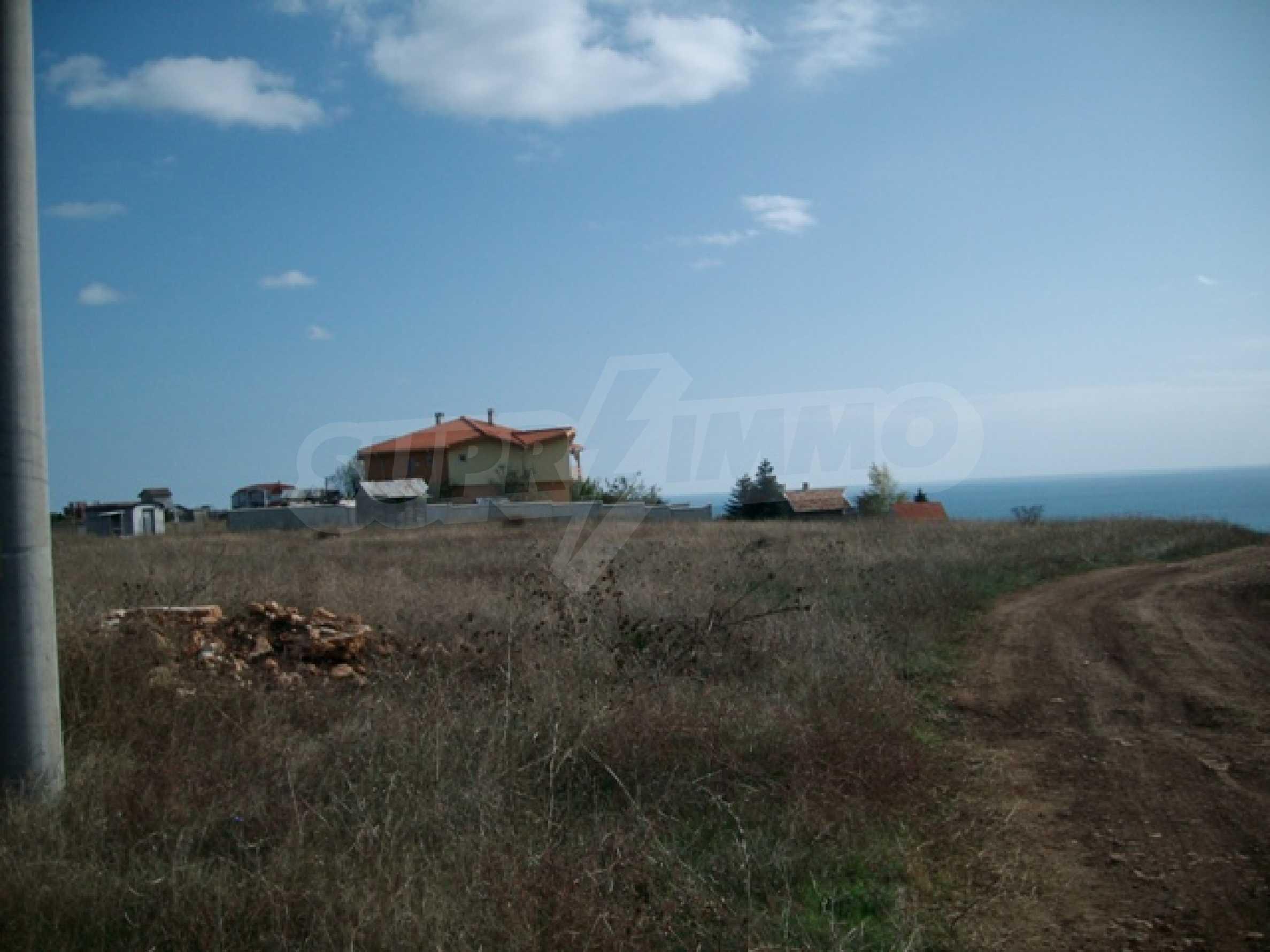 Land im Dorf Topola