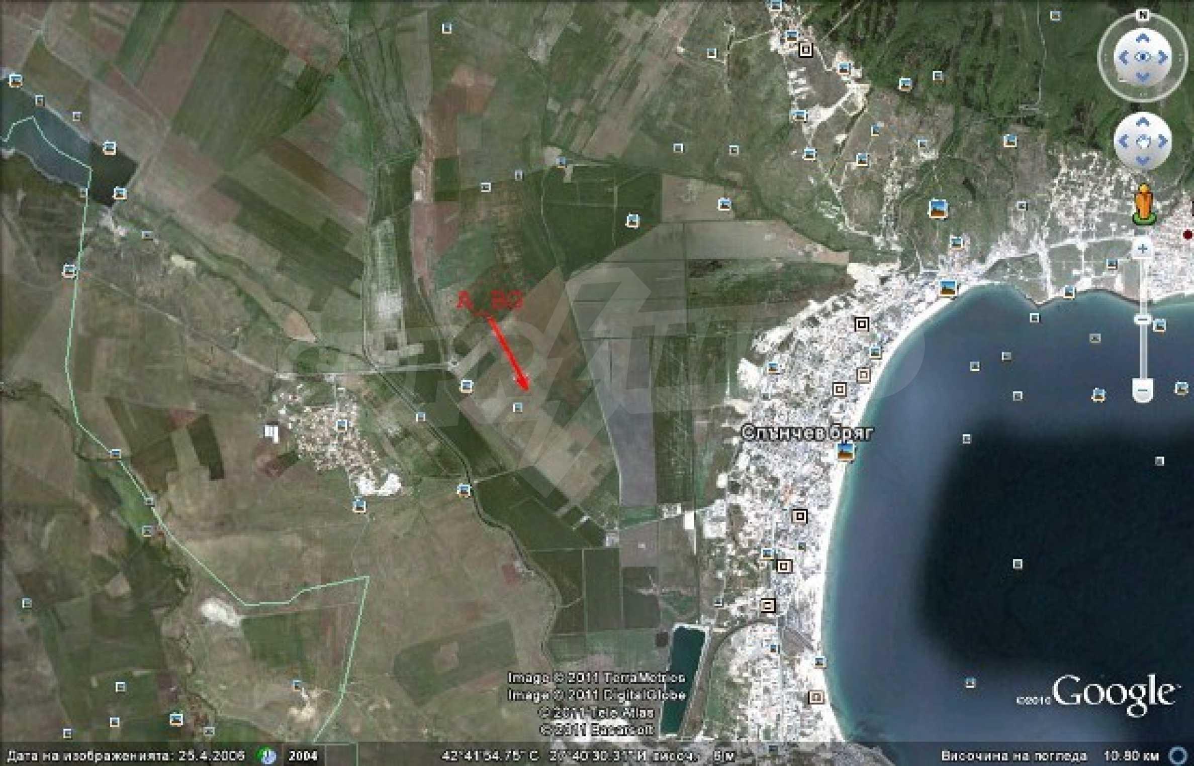 Development land for sale near Sunny Beach 8