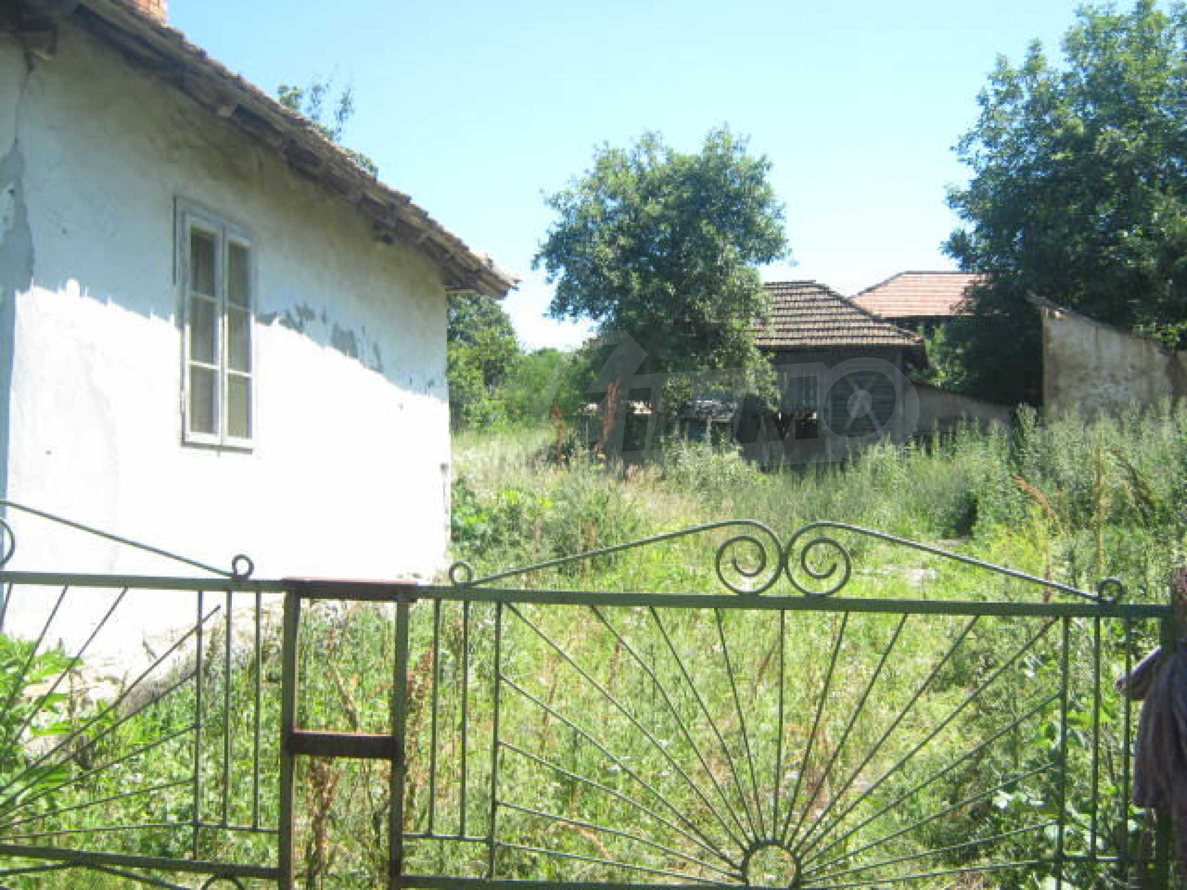 Old house in rural community 9