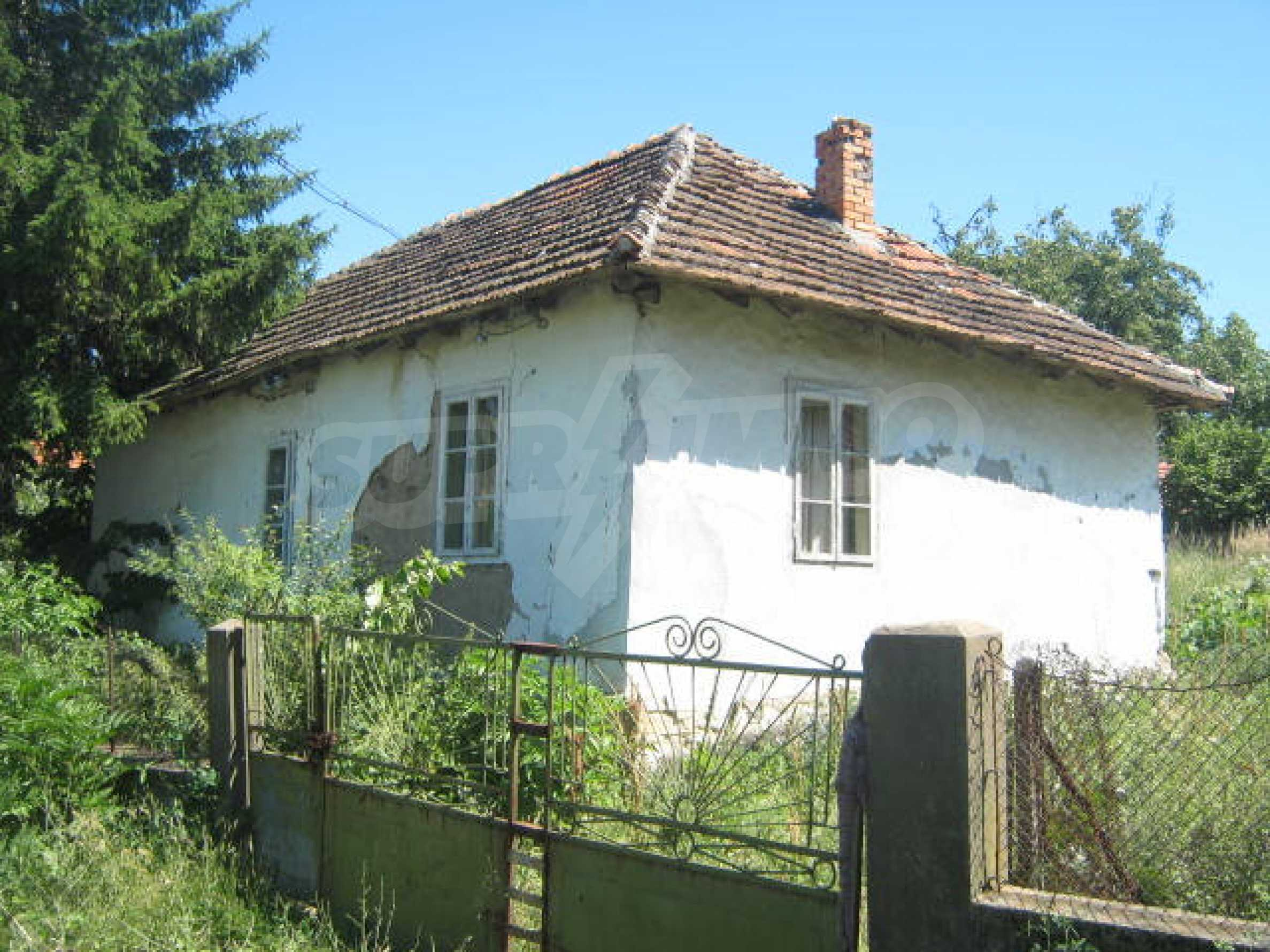 Old house in rural community 10