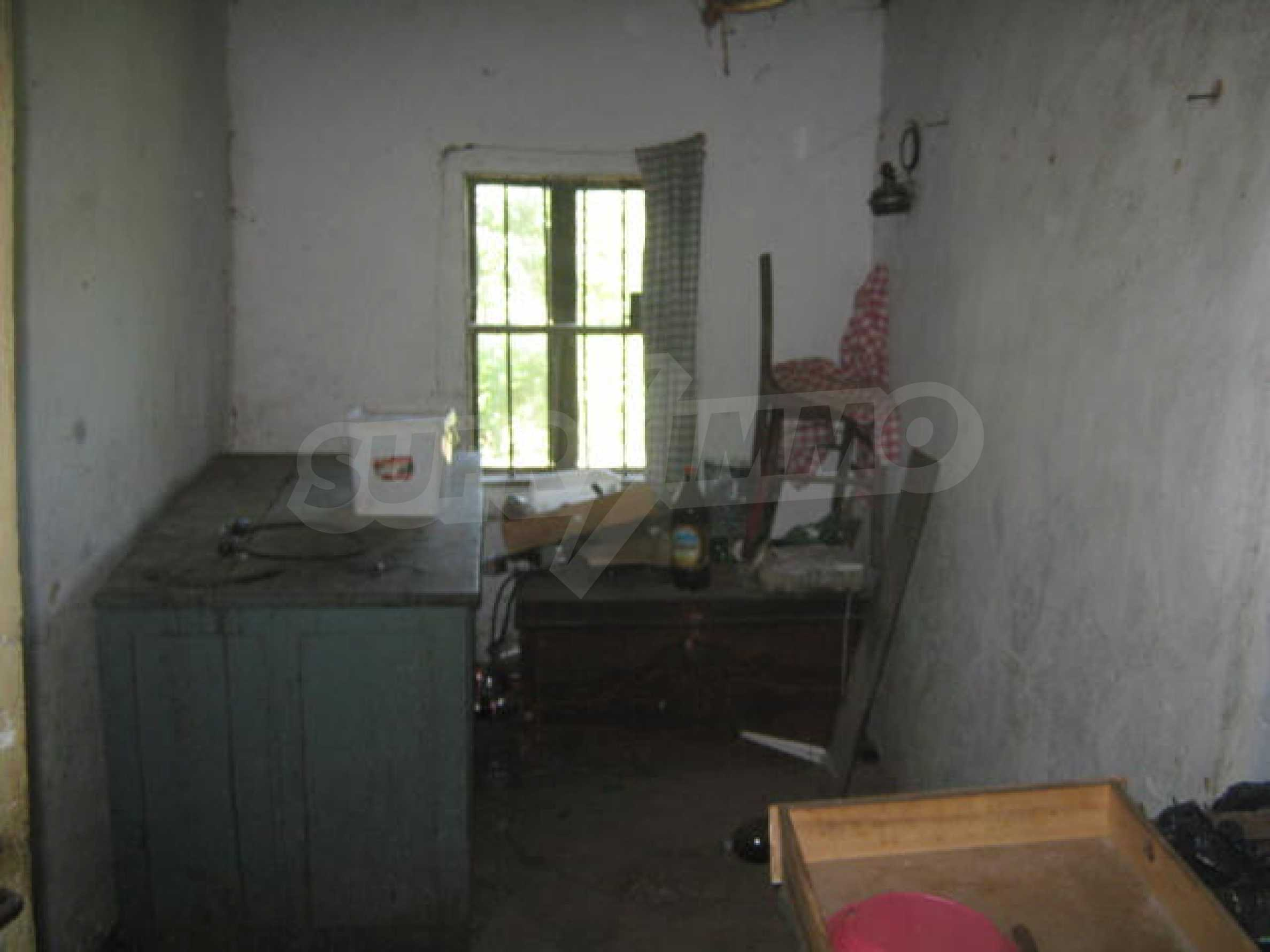Old house in rural community 6