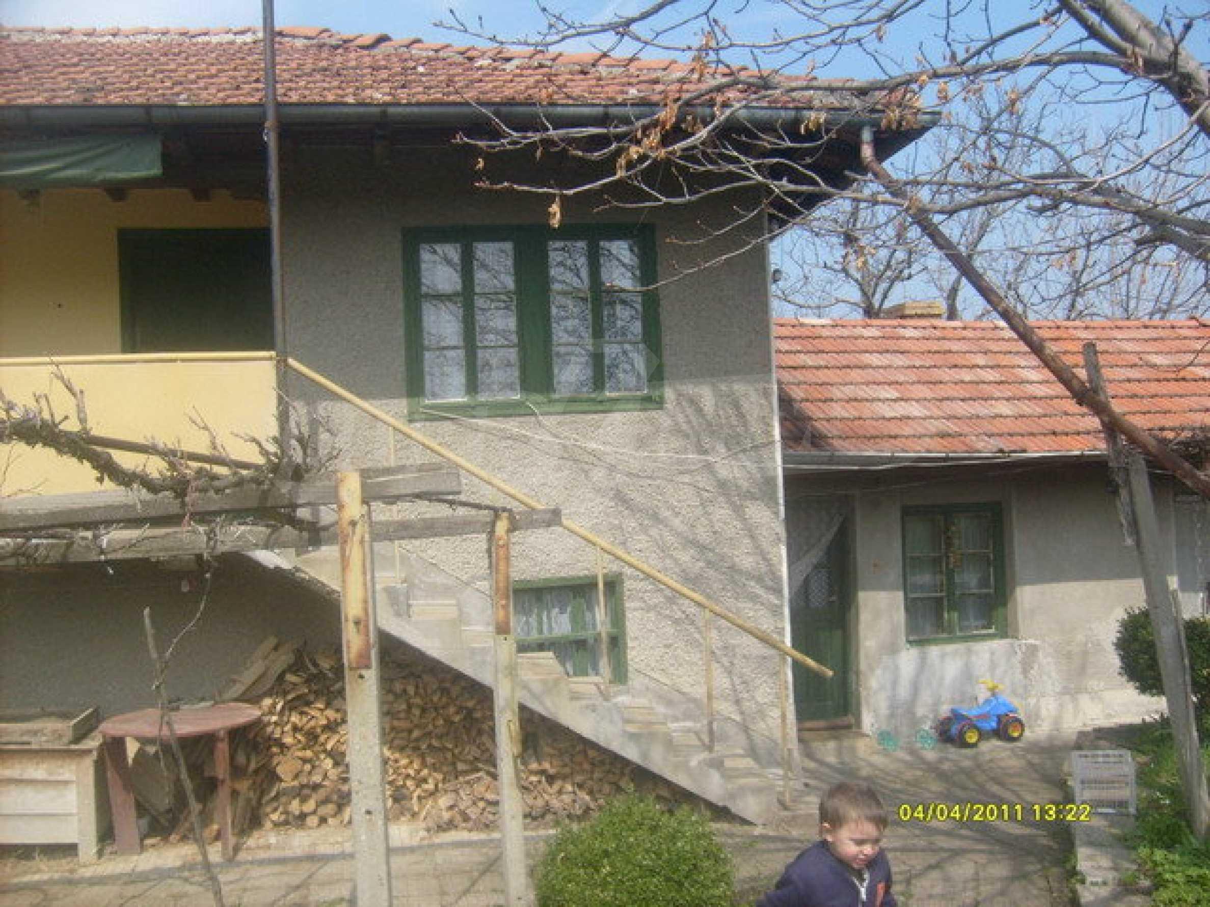 Дом в хорошо развитой деревне