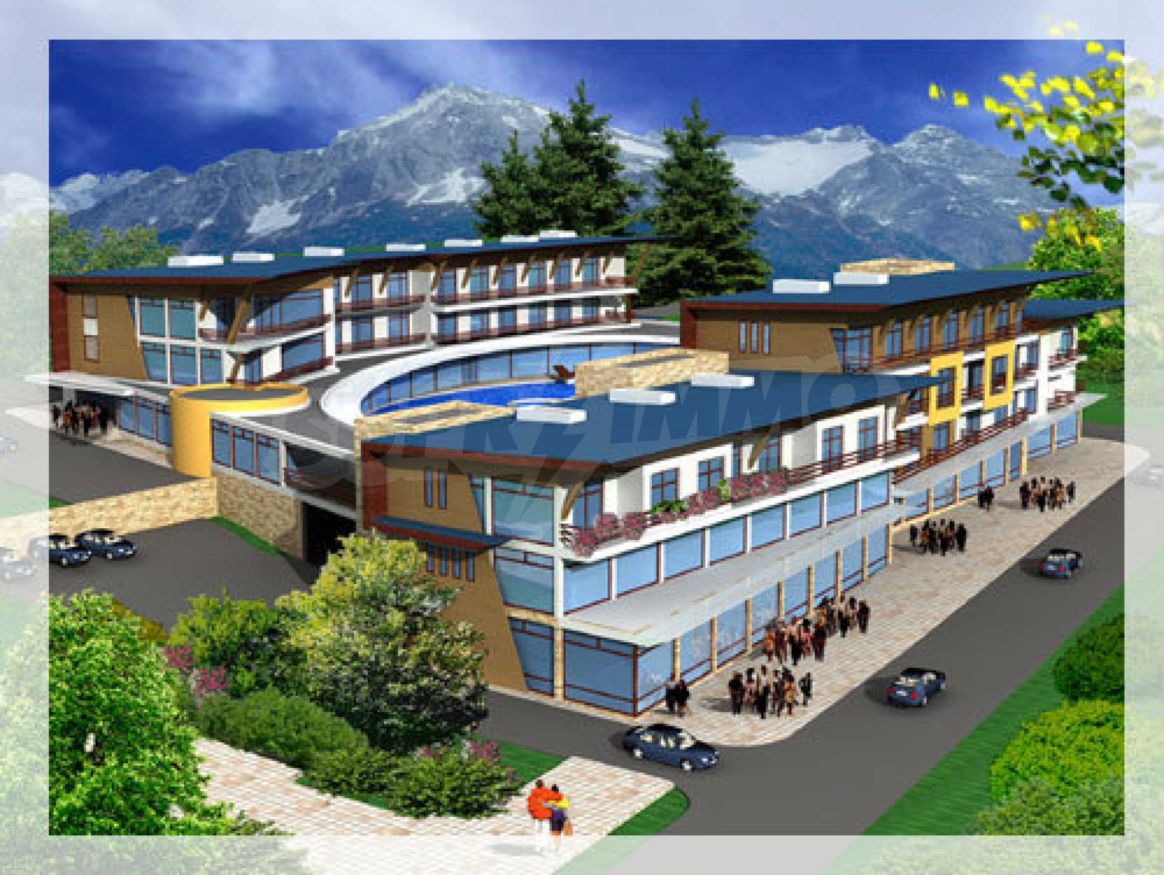 Project for hotel complex in Teteven