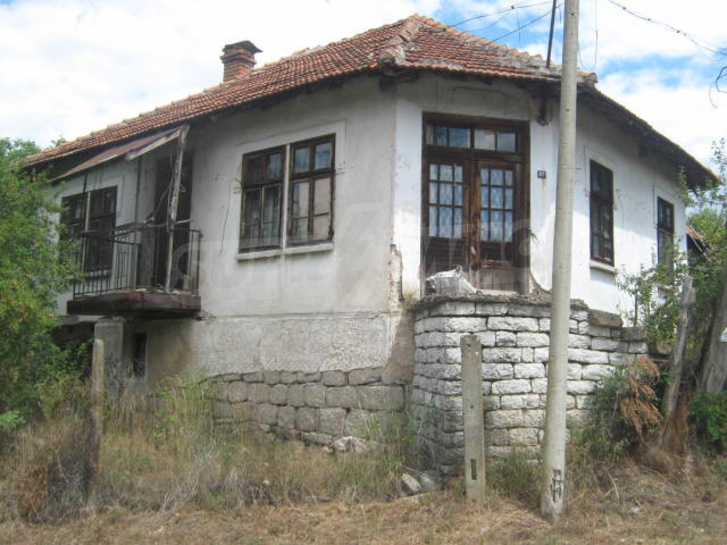 House in a village close to Belogradchik