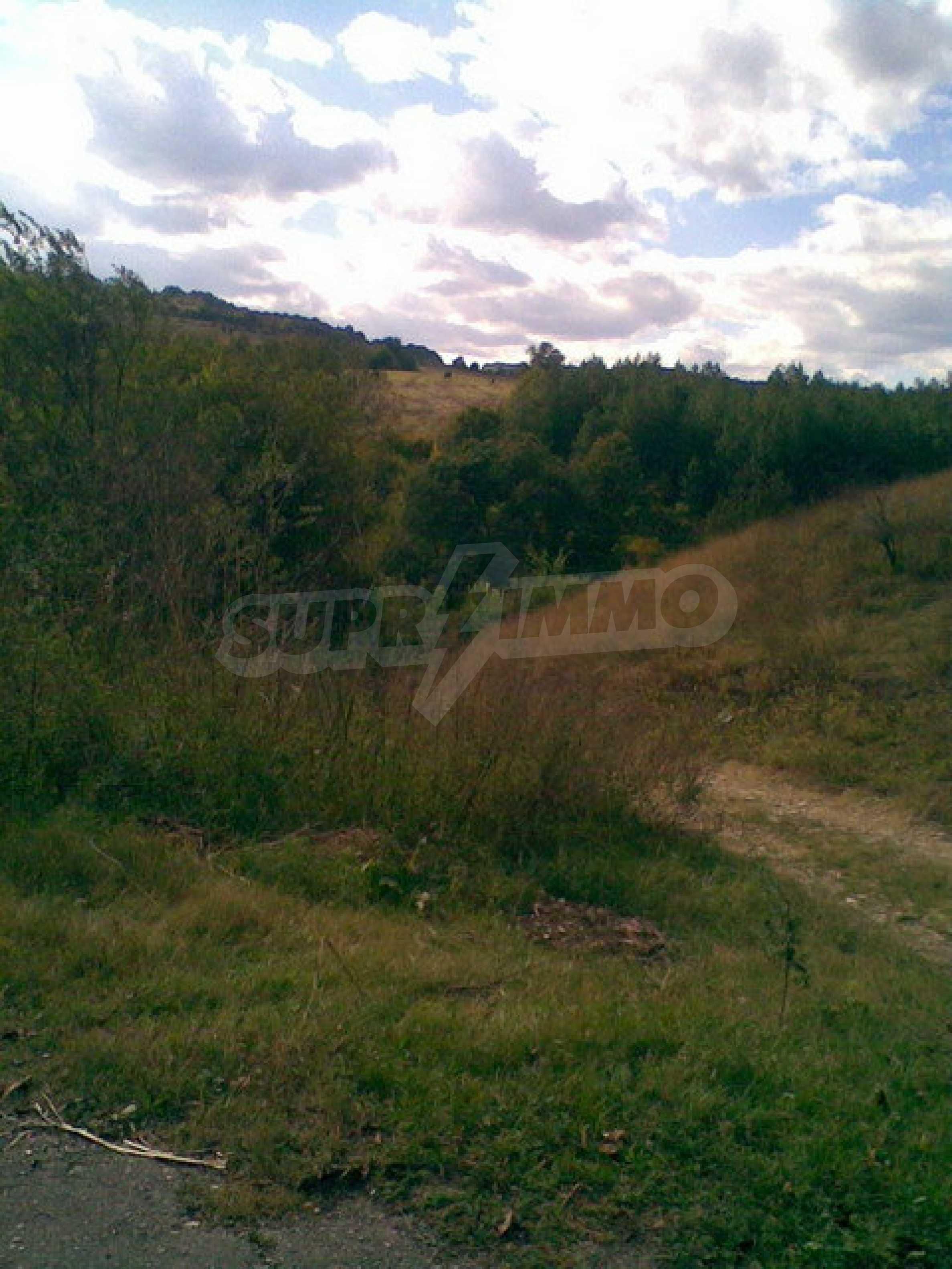 Plot of land in a village on the main road Sofia - Varna 1