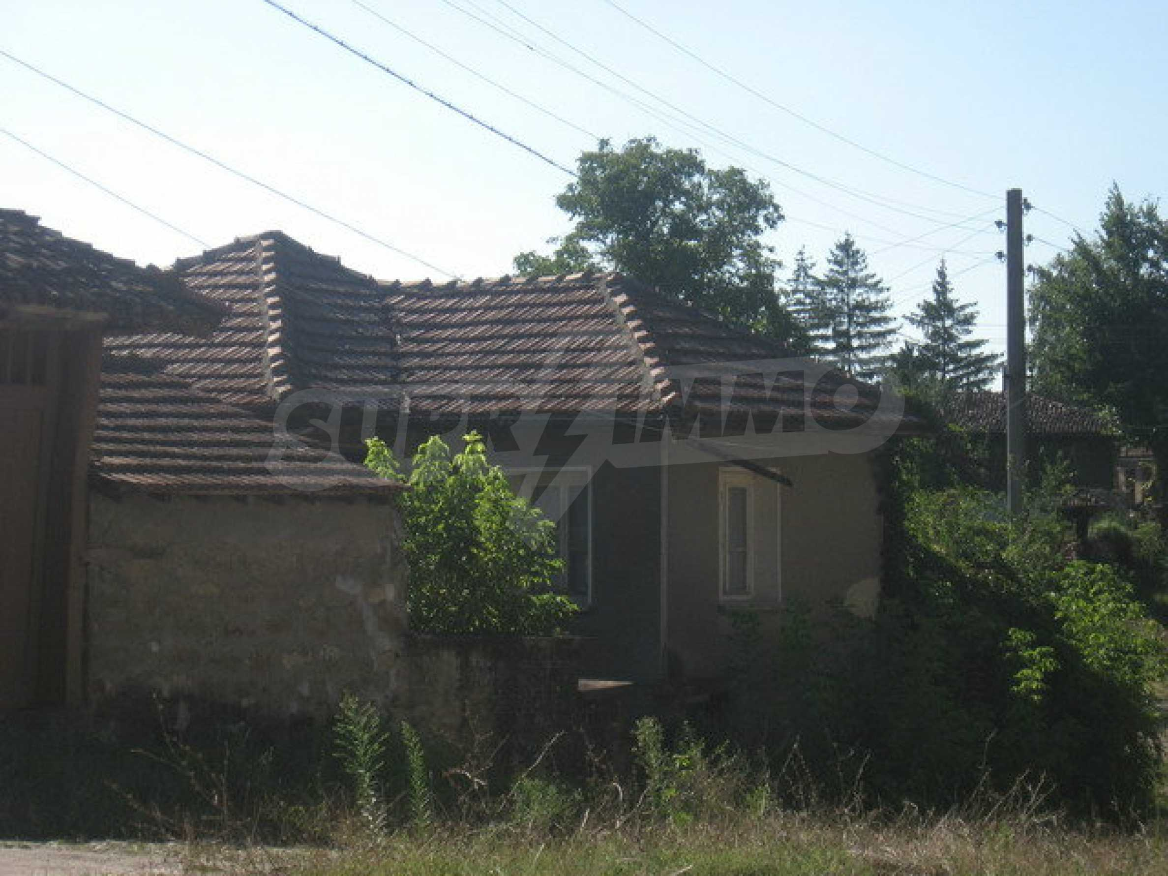 Brick built house in a village close to Veliko Tarnovo