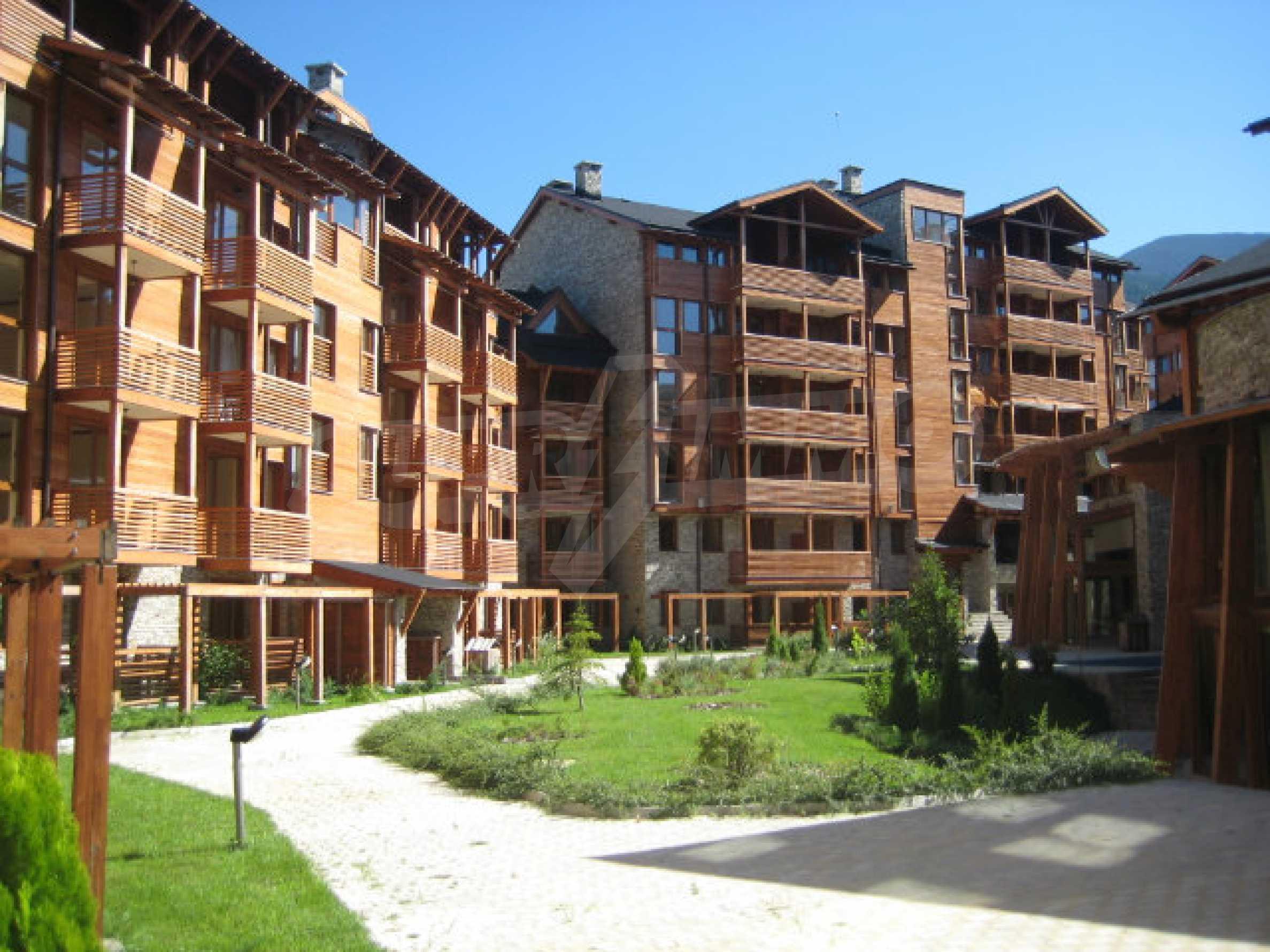Apartment mit einem Schlafzimmer im Saint Ivan Spa Complex