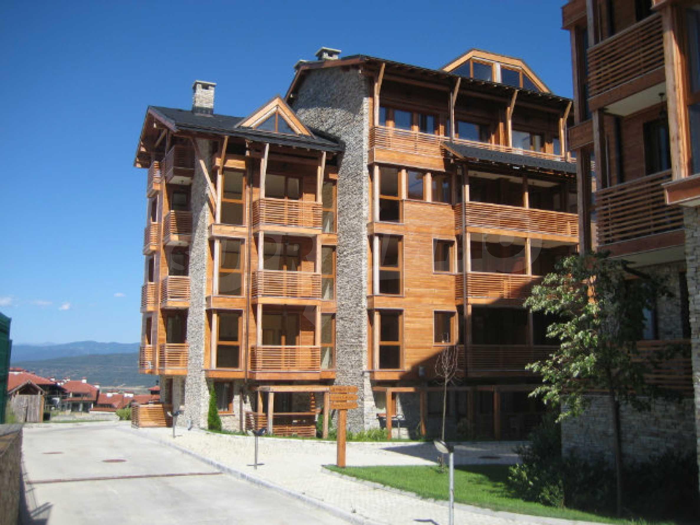Apartment mit einem Schlafzimmer im Saint Ivan Spa Complex 2