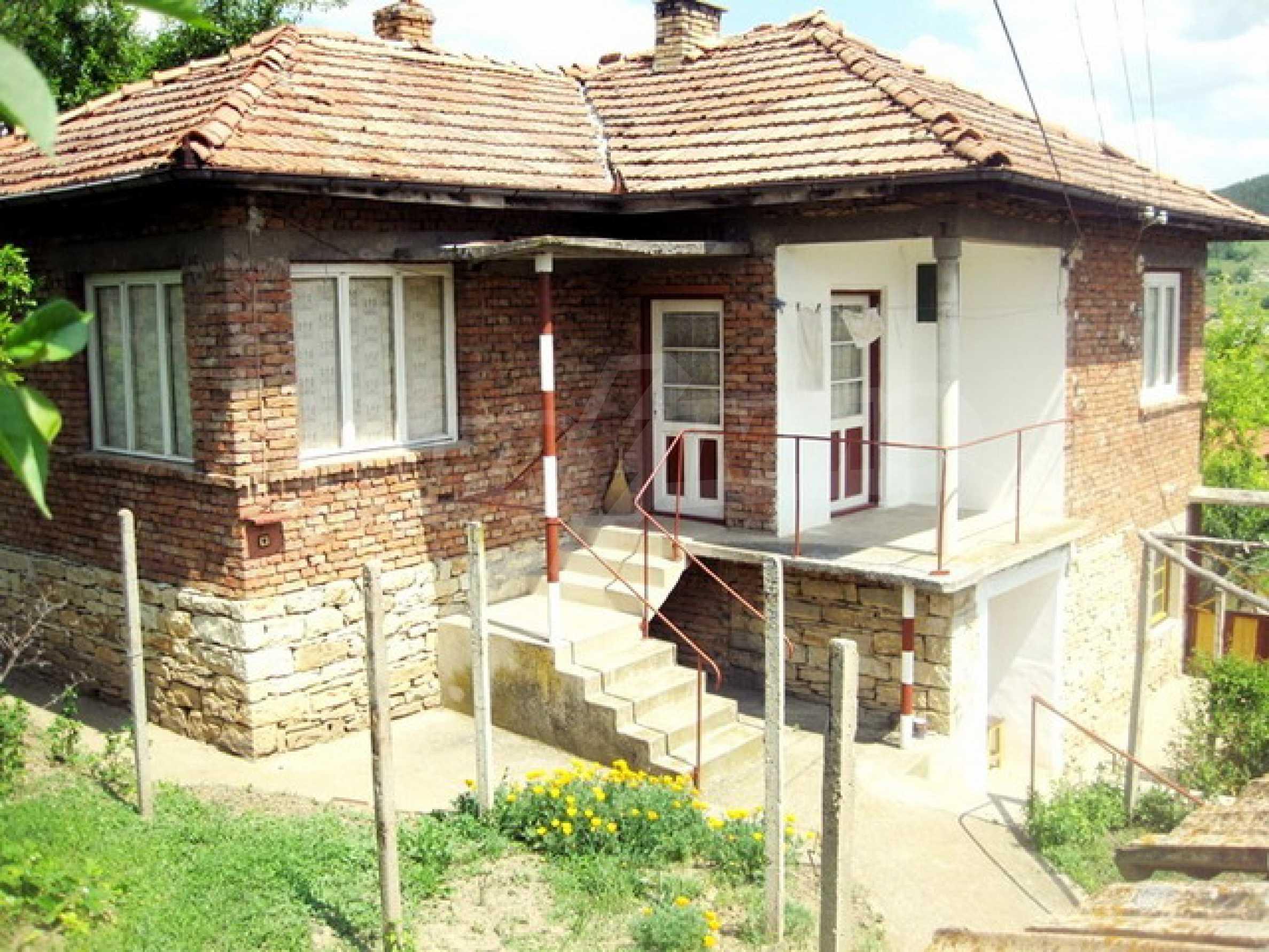 Дом около реки Дунай