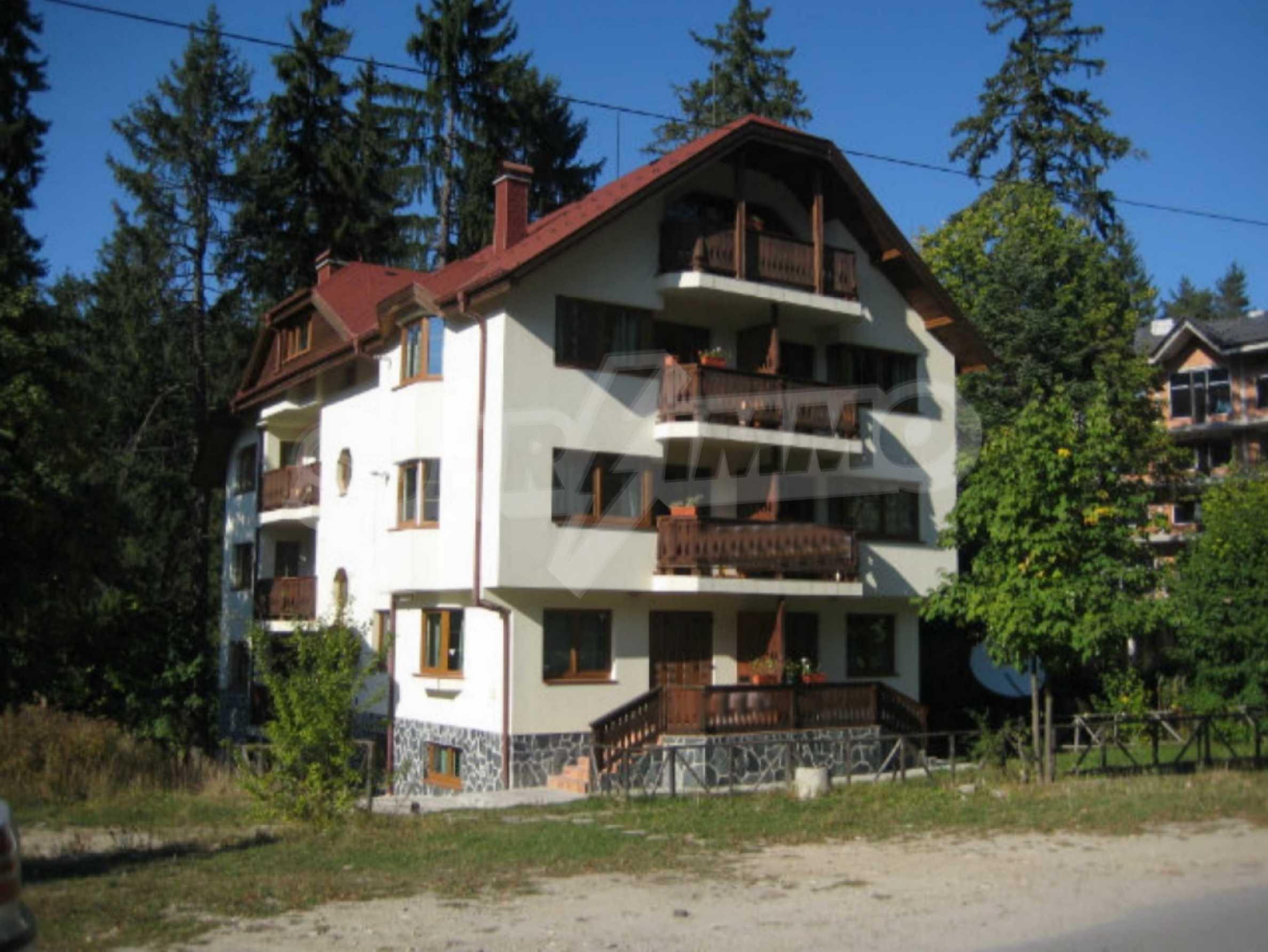 Apartments im alpinen Stil, nur 400 m vom Skilift in Borovets entfernt