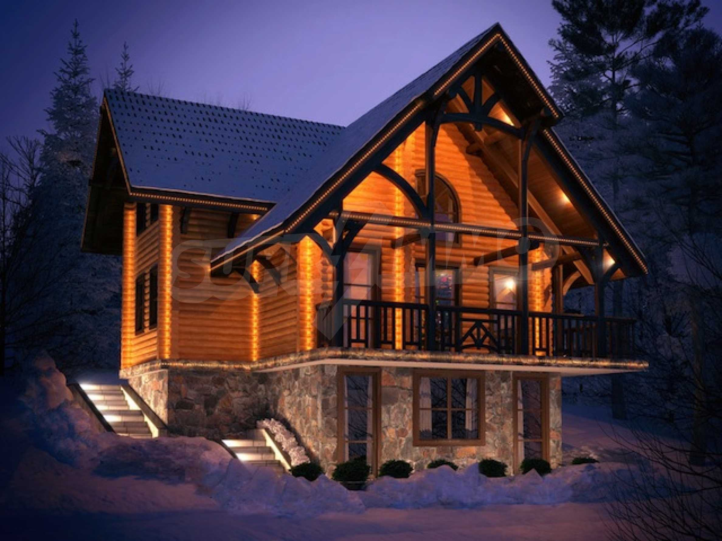 Godlevo Chalets (plot with project) near Bansko and Razlog 1