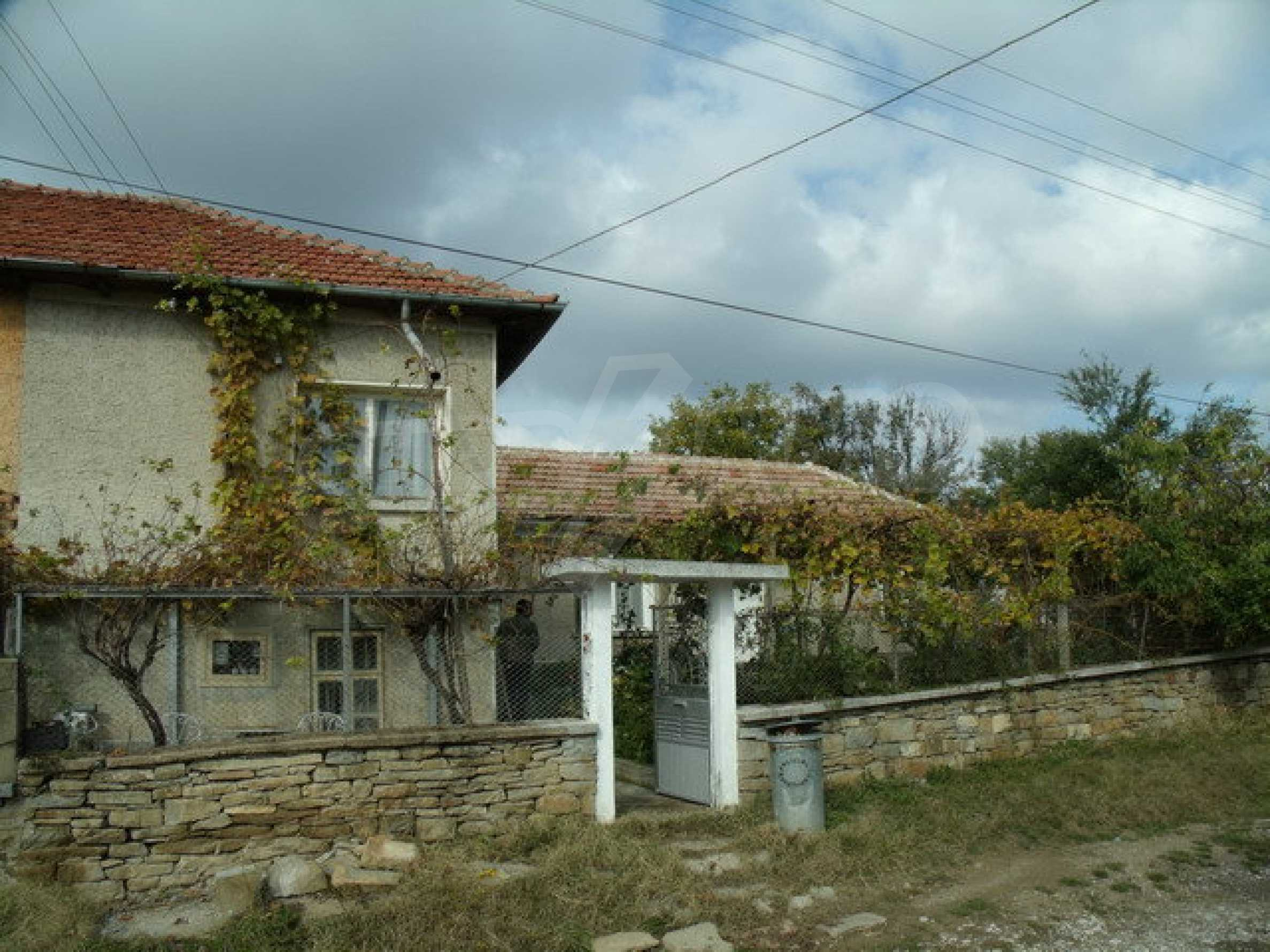 House in a small town, 15 km. from the old capital of Veliko Tarnovo