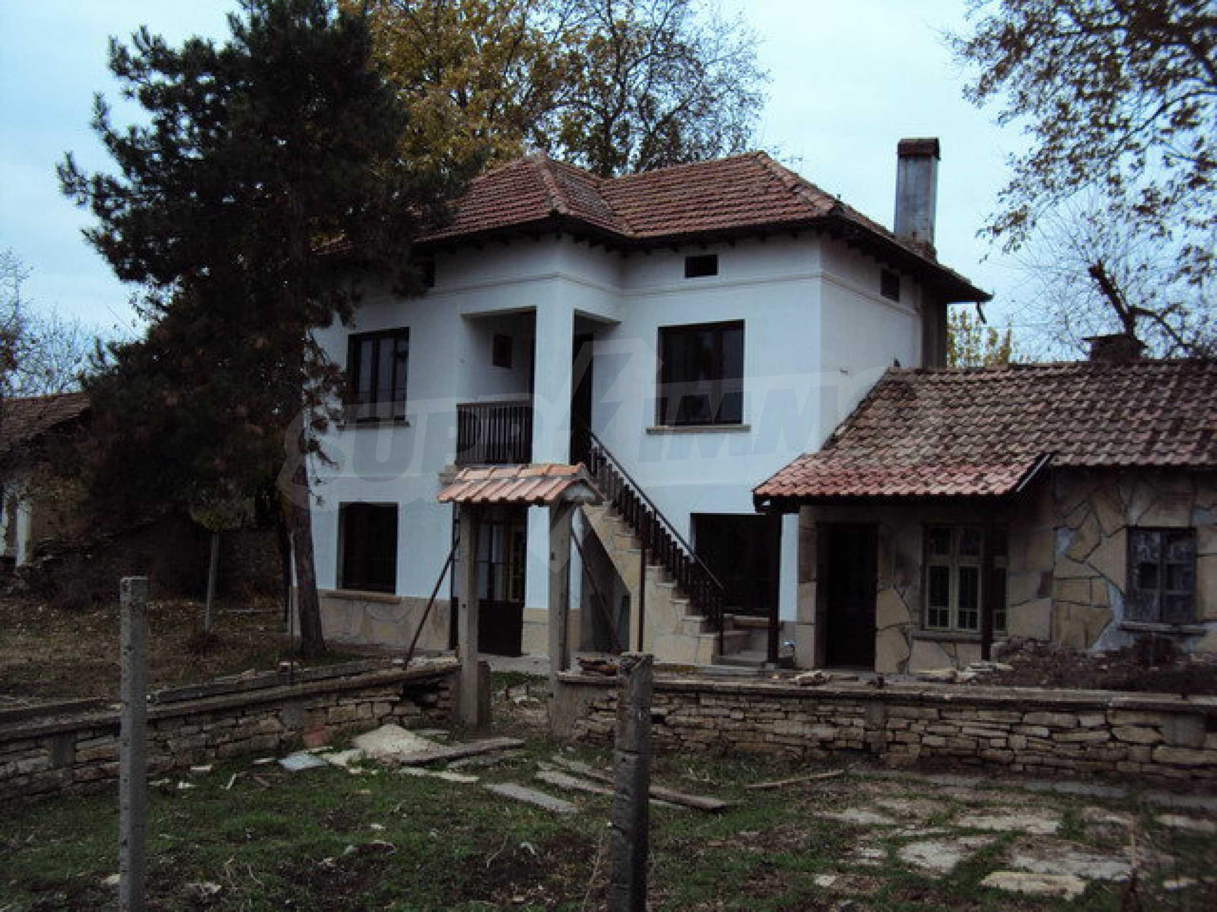 Zweistöckiges Haus