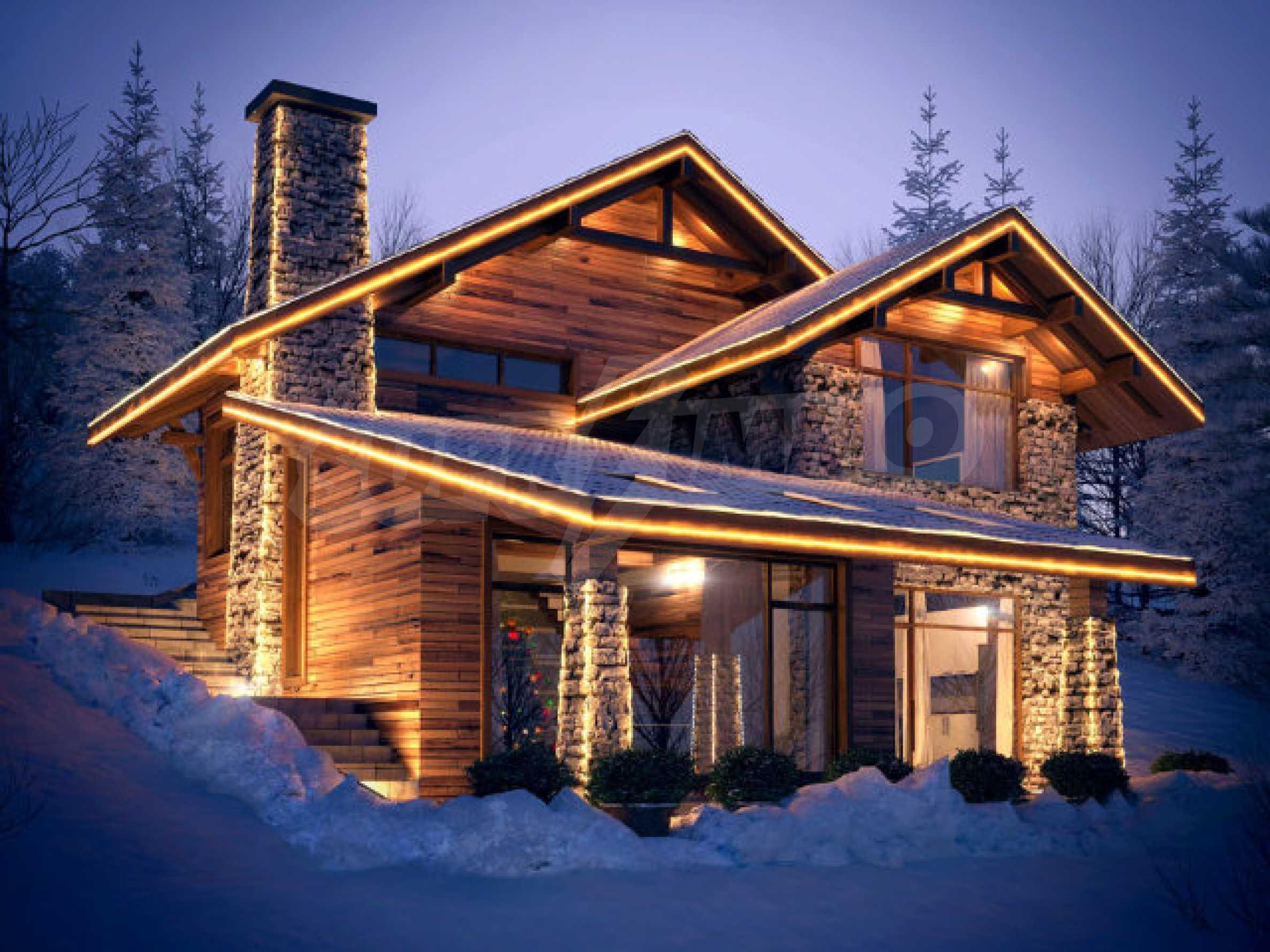 New Villas With Uniqie Views In Clean Region 14 Km Away From The Ski Runs Of Bansko