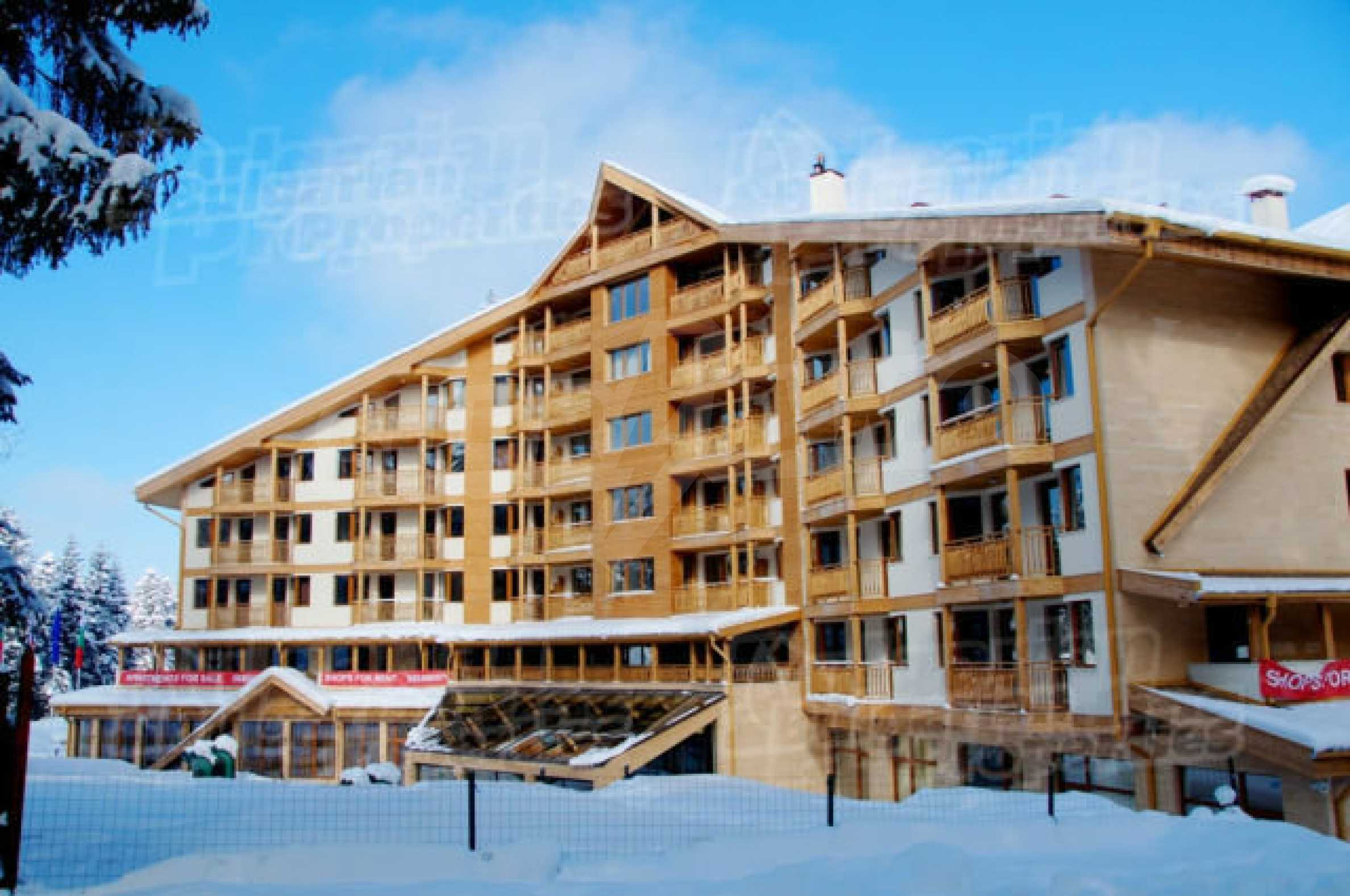 Lovely furnished 1-bedroom apartment in holiday complex Iceberg