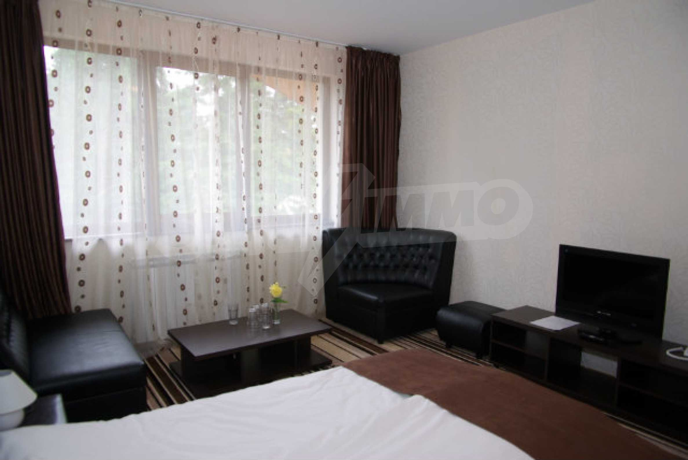 Lovely furnished 1-bedroom apartment in holiday complex Iceberg 15